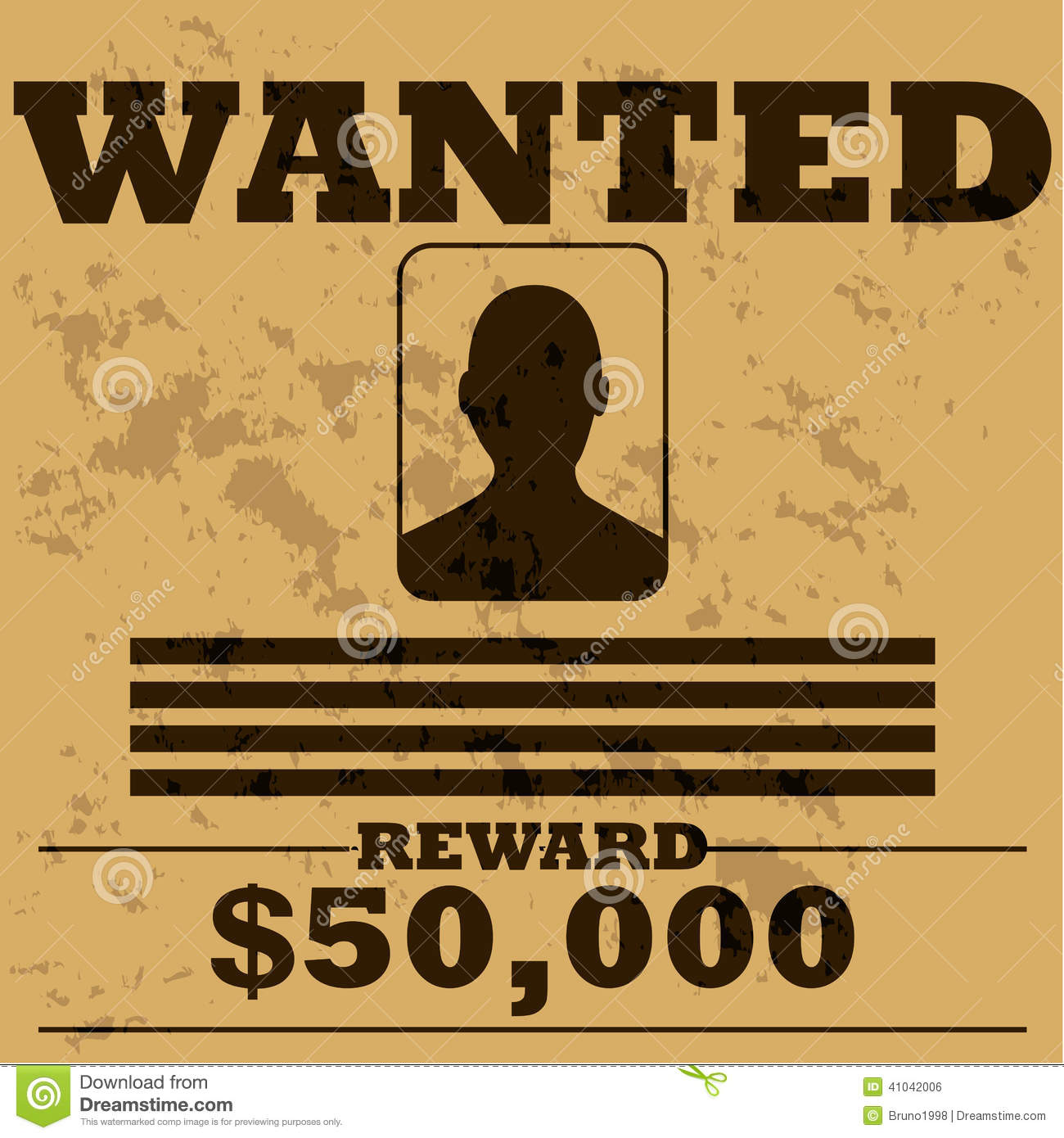 Doc450633 Most Wanted Poster Templates Doc450633 Most Wanted – Most Wanted Poster Template