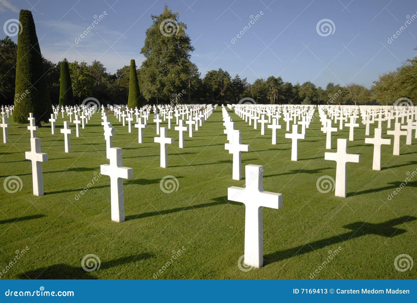War Graves In Normandy Stock Image Image Of Fallen
