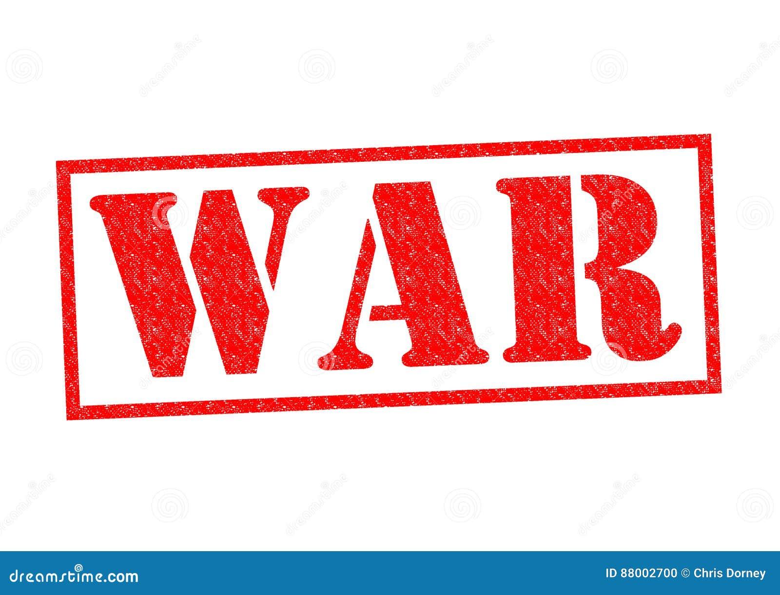WAR Rubber Stamp stock illustration. Image of dangerous ...