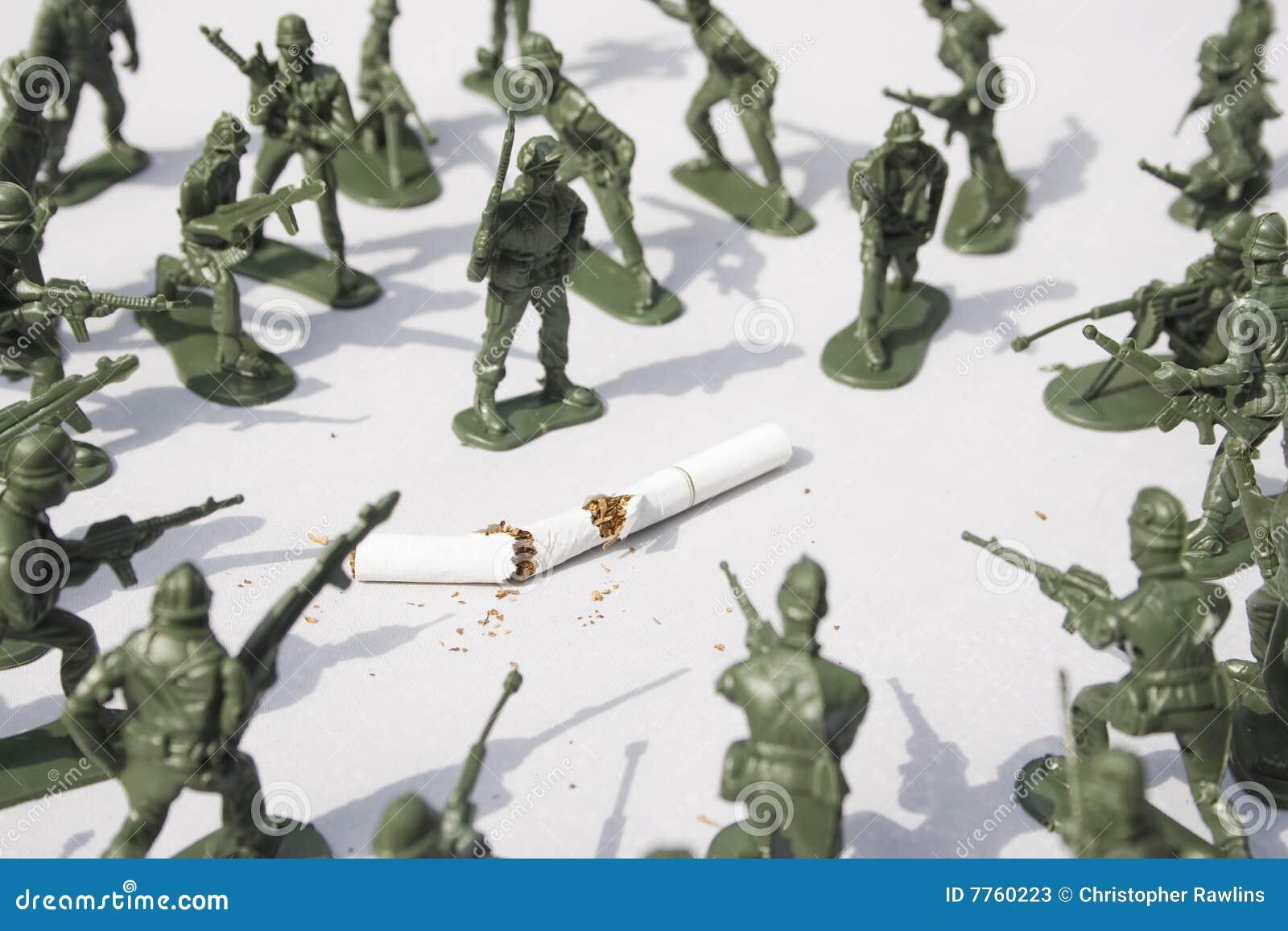 War on Smoking - control