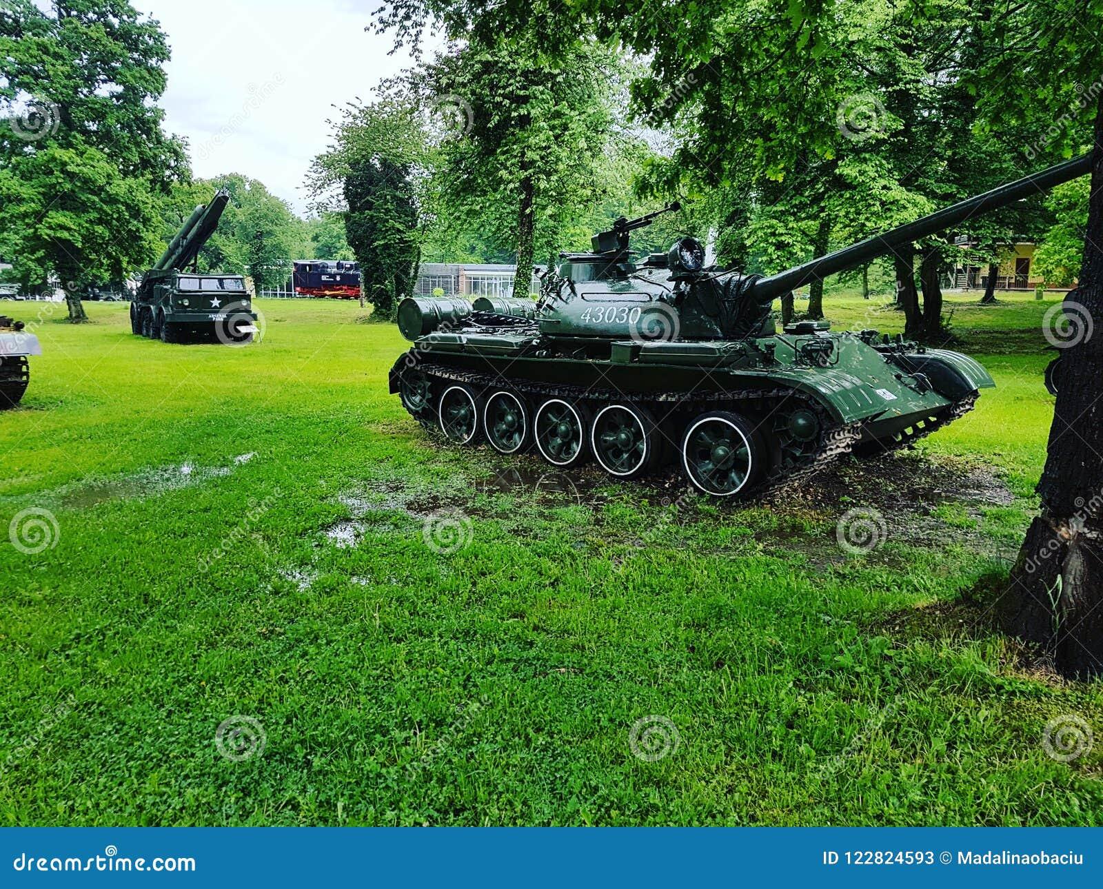 War tanks at Arsenal Park