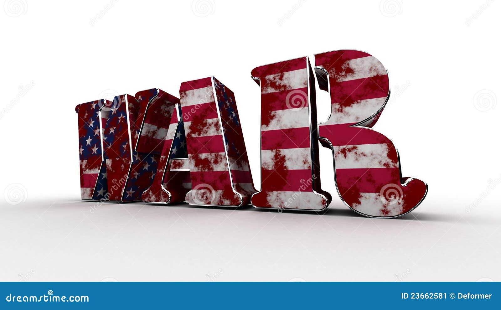 War Usa Stock Image Image 23662581