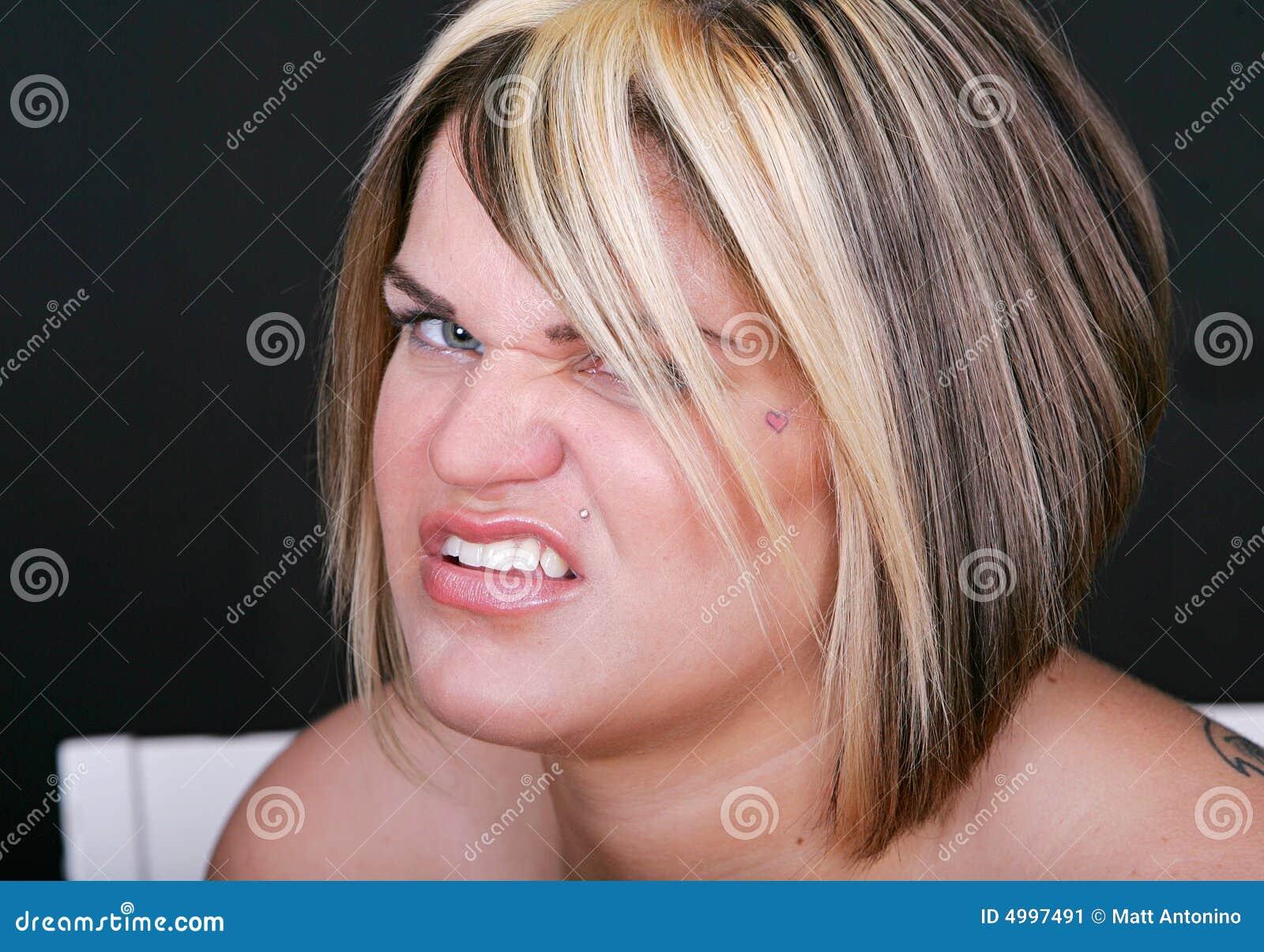 Warczenie kobiety