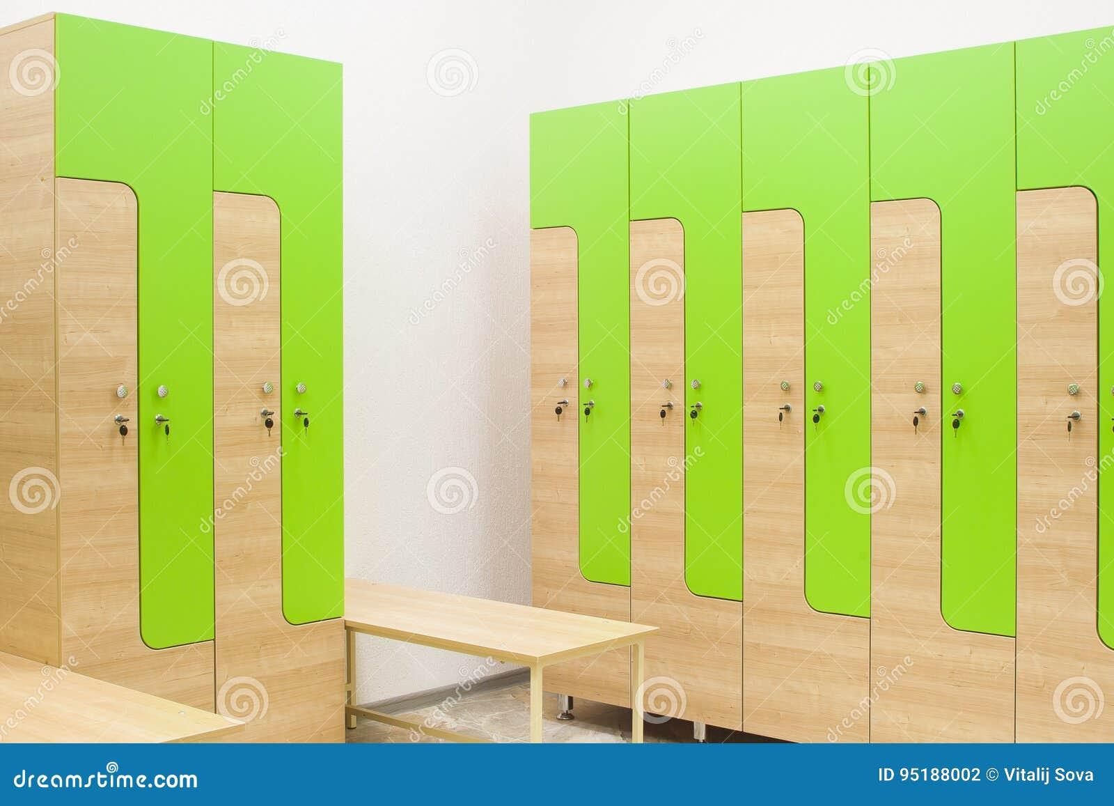Strange Wardrobe In The Gym And Bench Stock Photo Image Of Design Machost Co Dining Chair Design Ideas Machostcouk