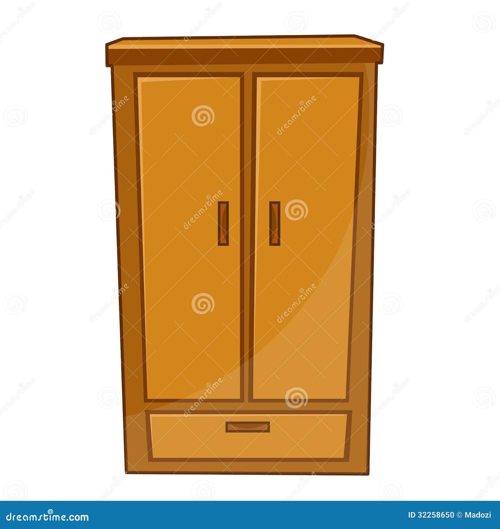 Wardrobe Isolated Illustration Stock Photo Image 32258650