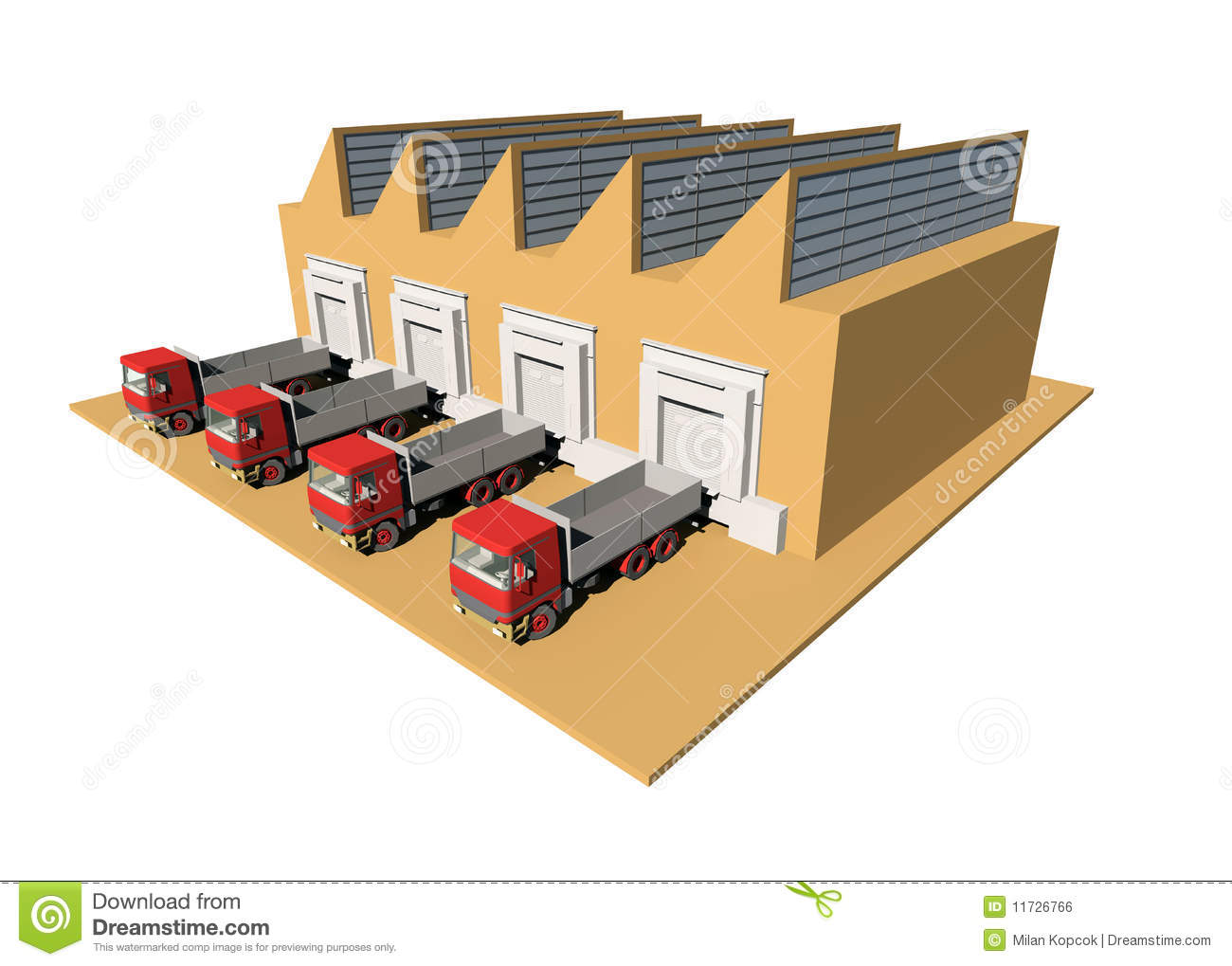 Warehouse royalty free stock image image 11726766 for Serie warehouse