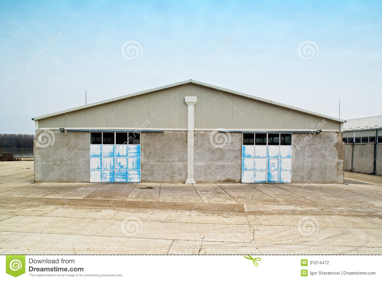 Warehouse Exterior Stock Photo Image Of Door Building 31014472