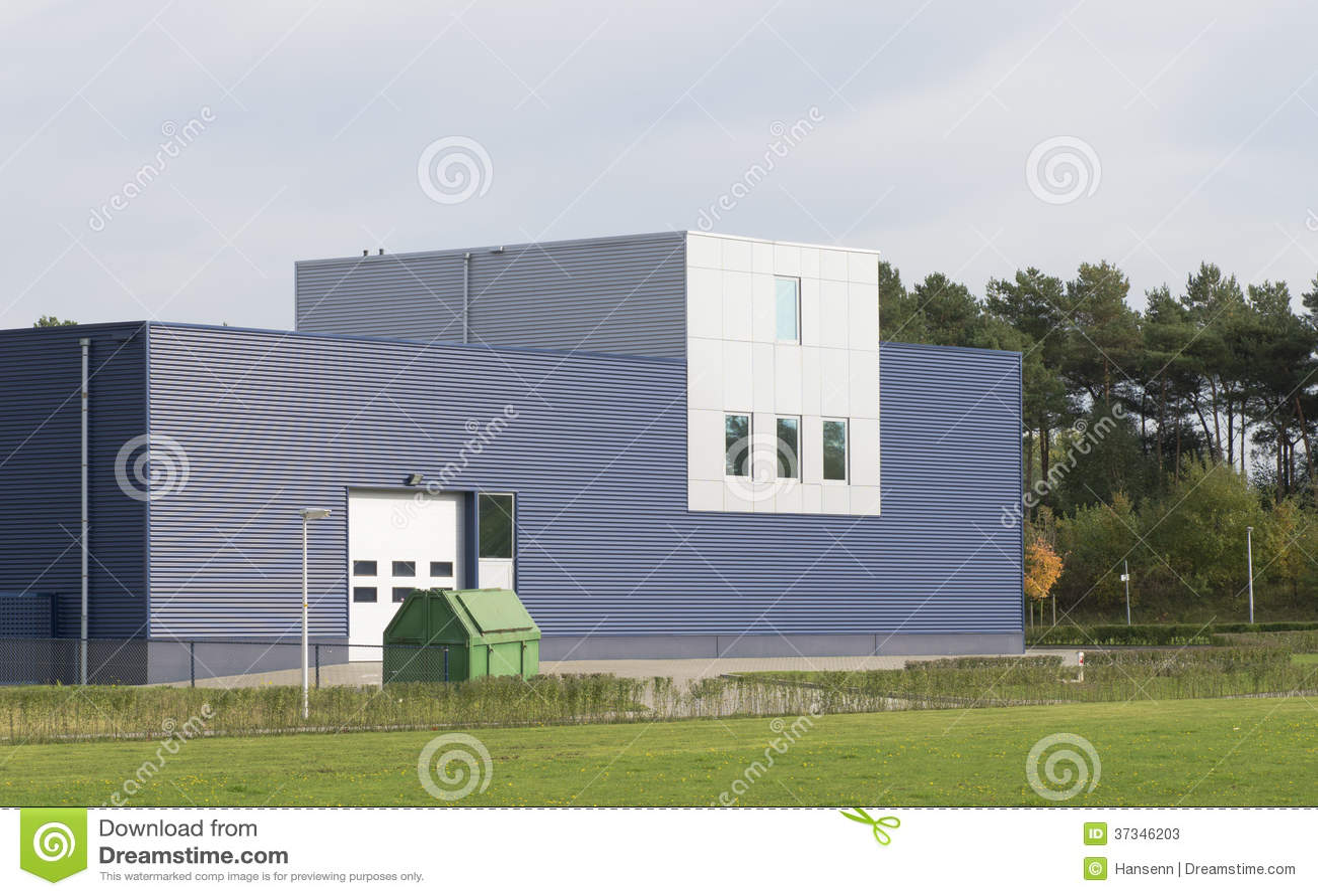 Warehouse Exterior Stock Photos - Image: 37346203