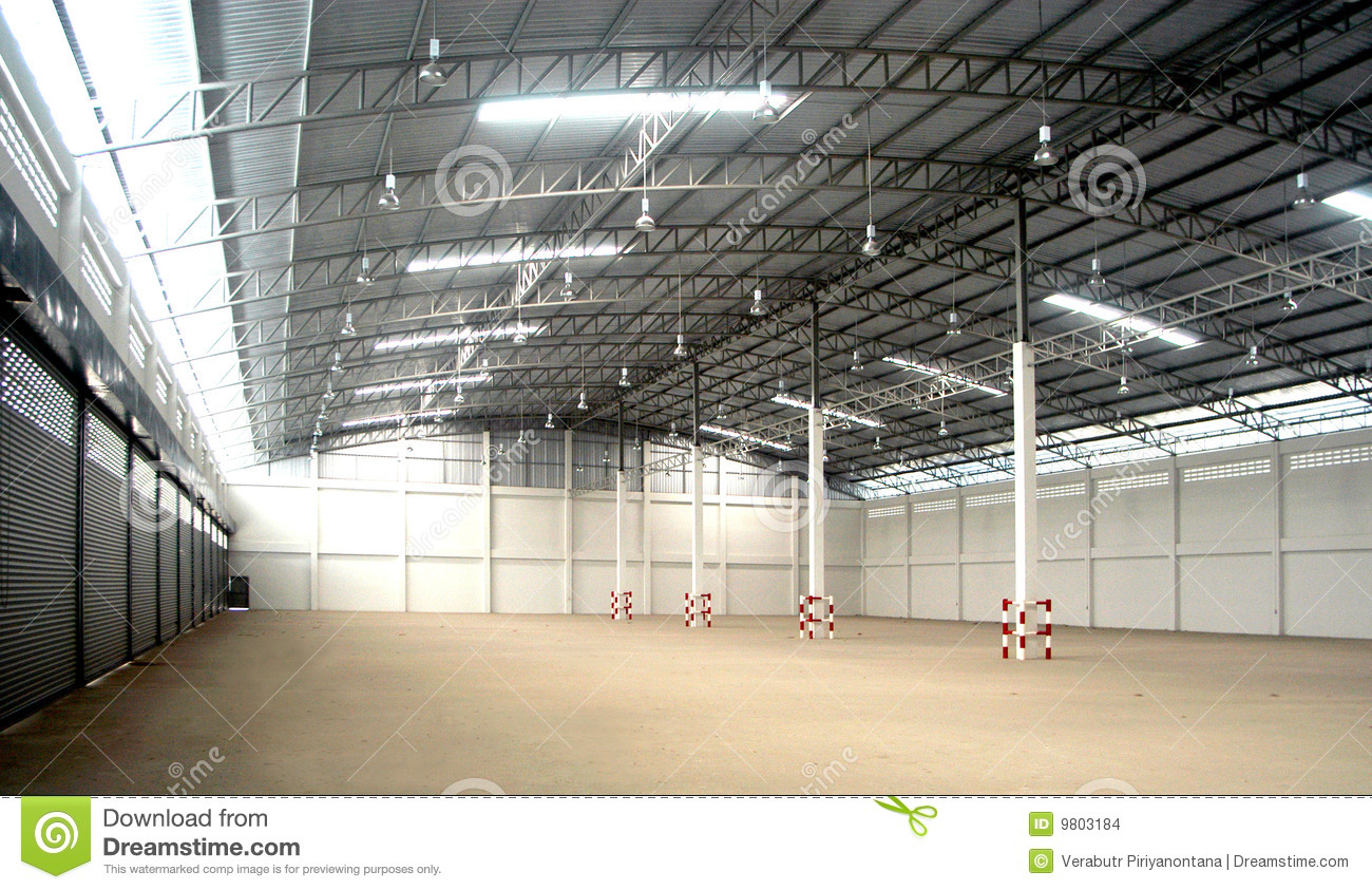 Warehouse Inside Stock Images Image 9803184