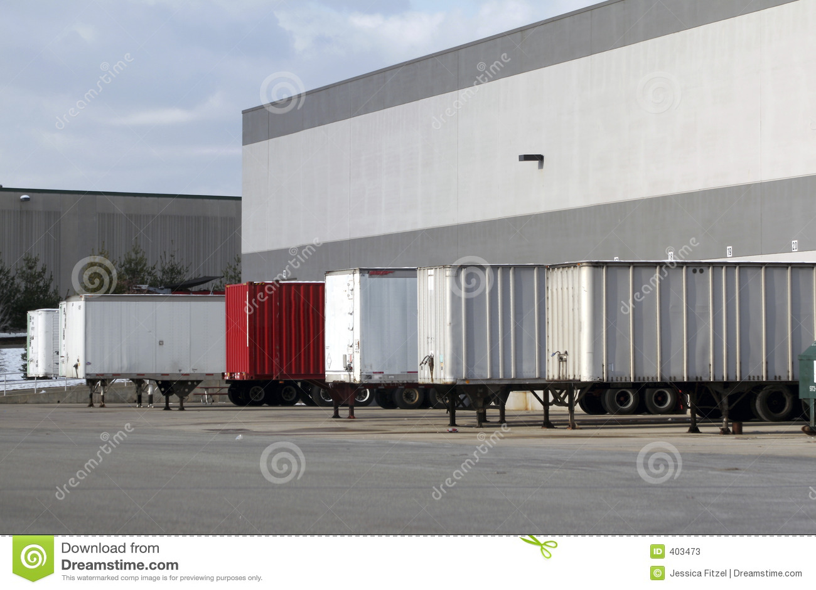 Warehouse Loading Dock Stock Photos Image 403473