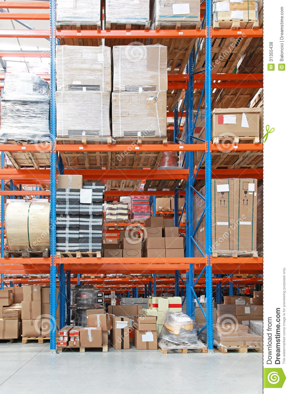 Warehouse royalty free stock photos image 31355438 Warehouse racking layout software free