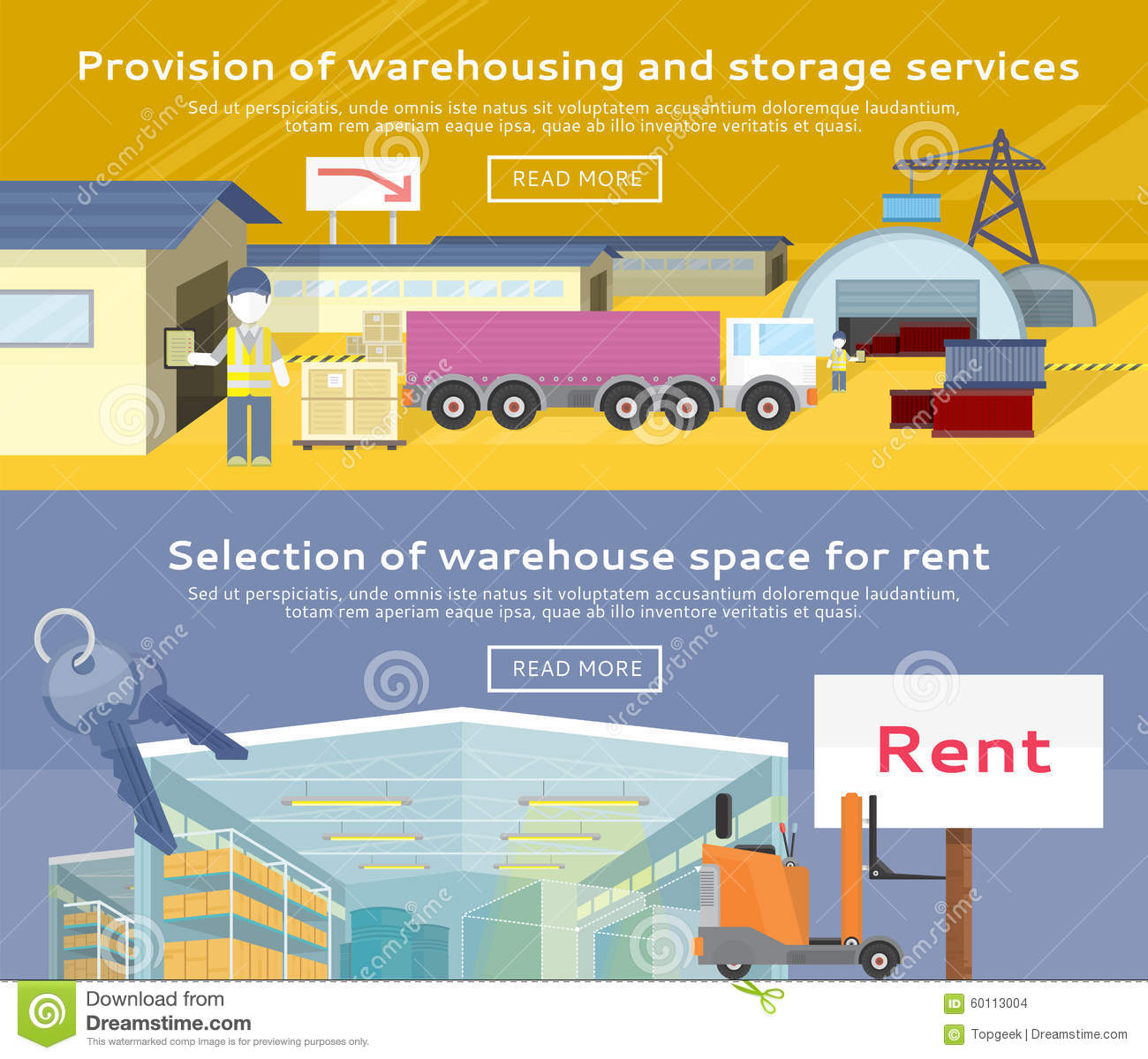 Storekeeper cartoons illustrations vector stock images 74 pictures to download from - Small storage spaces for rent model ...