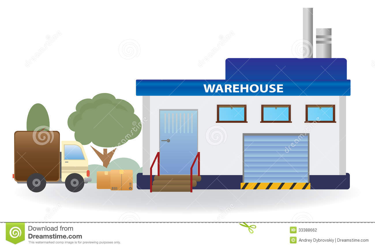 Warehouse  Vector for ...