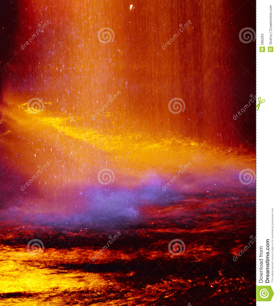 Warm abstract colors