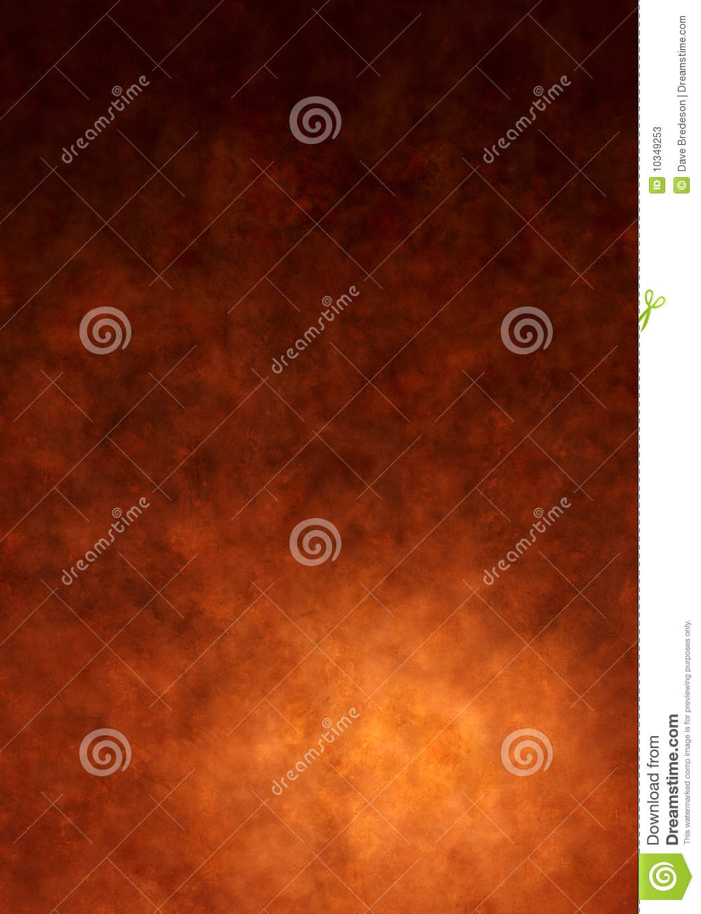 Warm Brown Painted Canvas Background