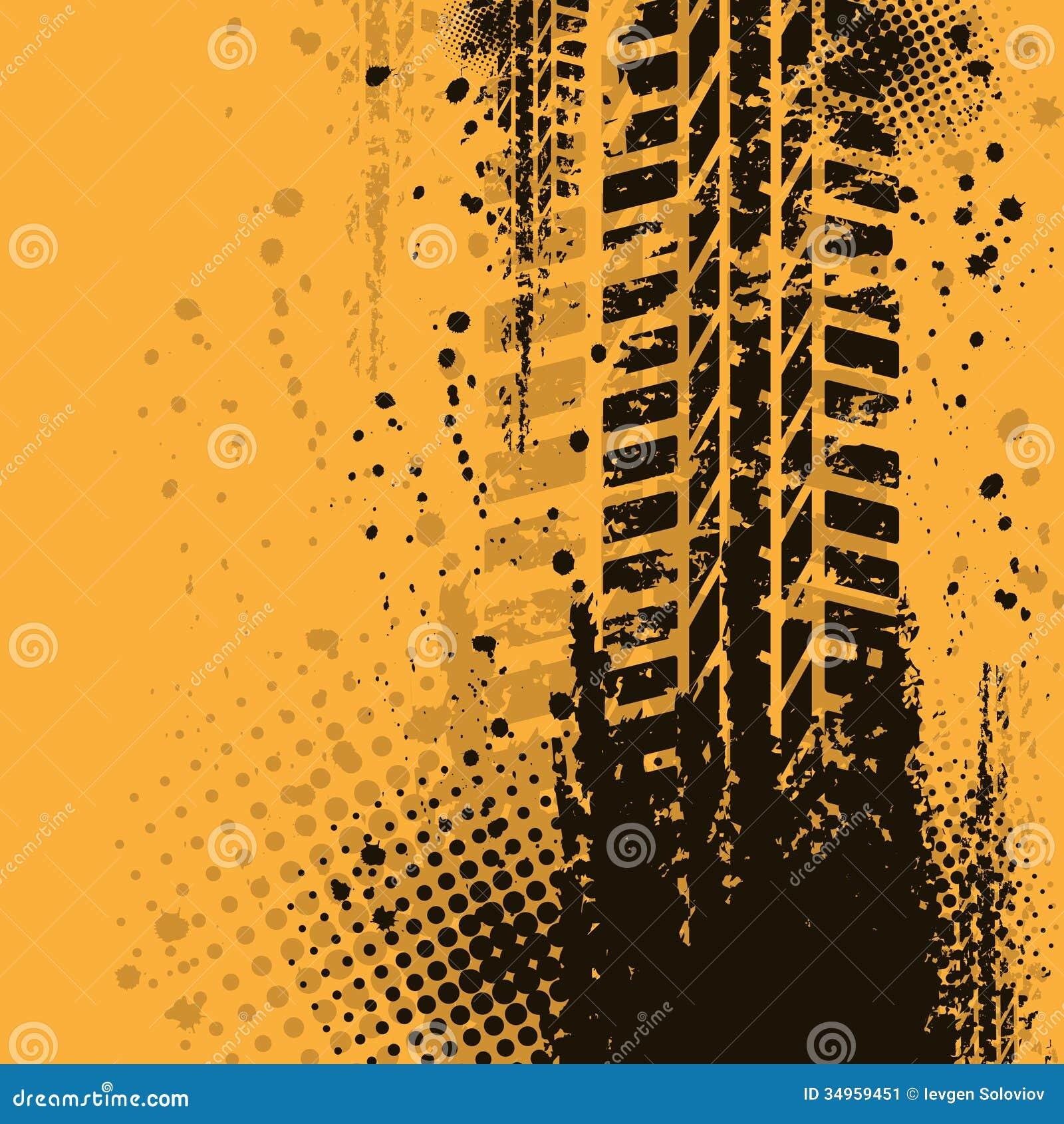 warm tire track background stock image image 34959451