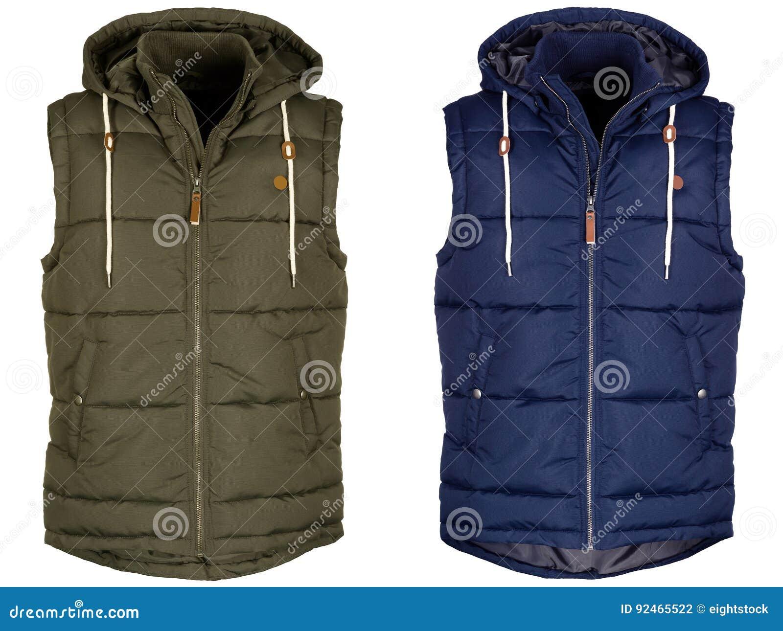 Warm vest twee met kap
