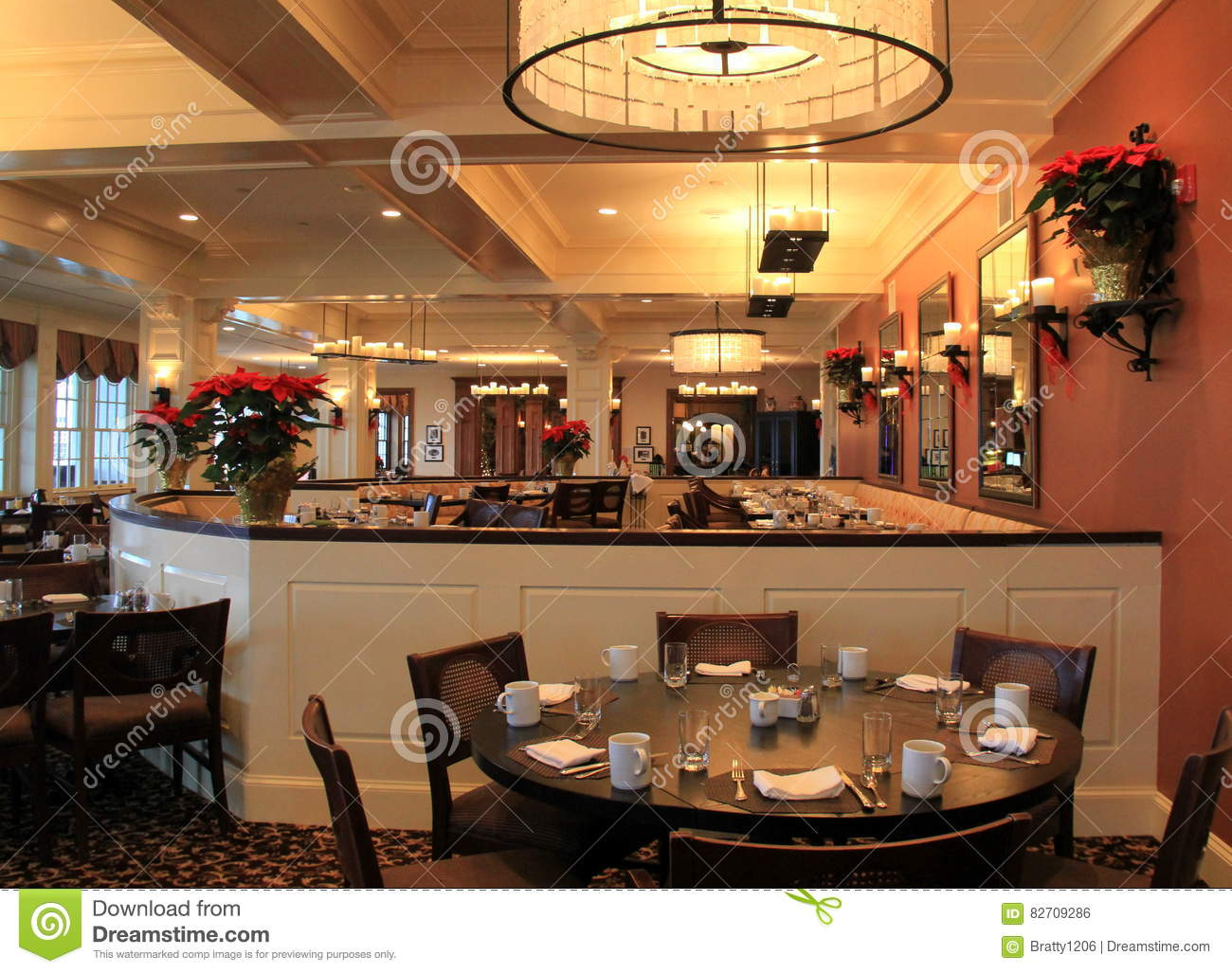 Warm And Welcoming Dining Room Set For Guests The Sagamore