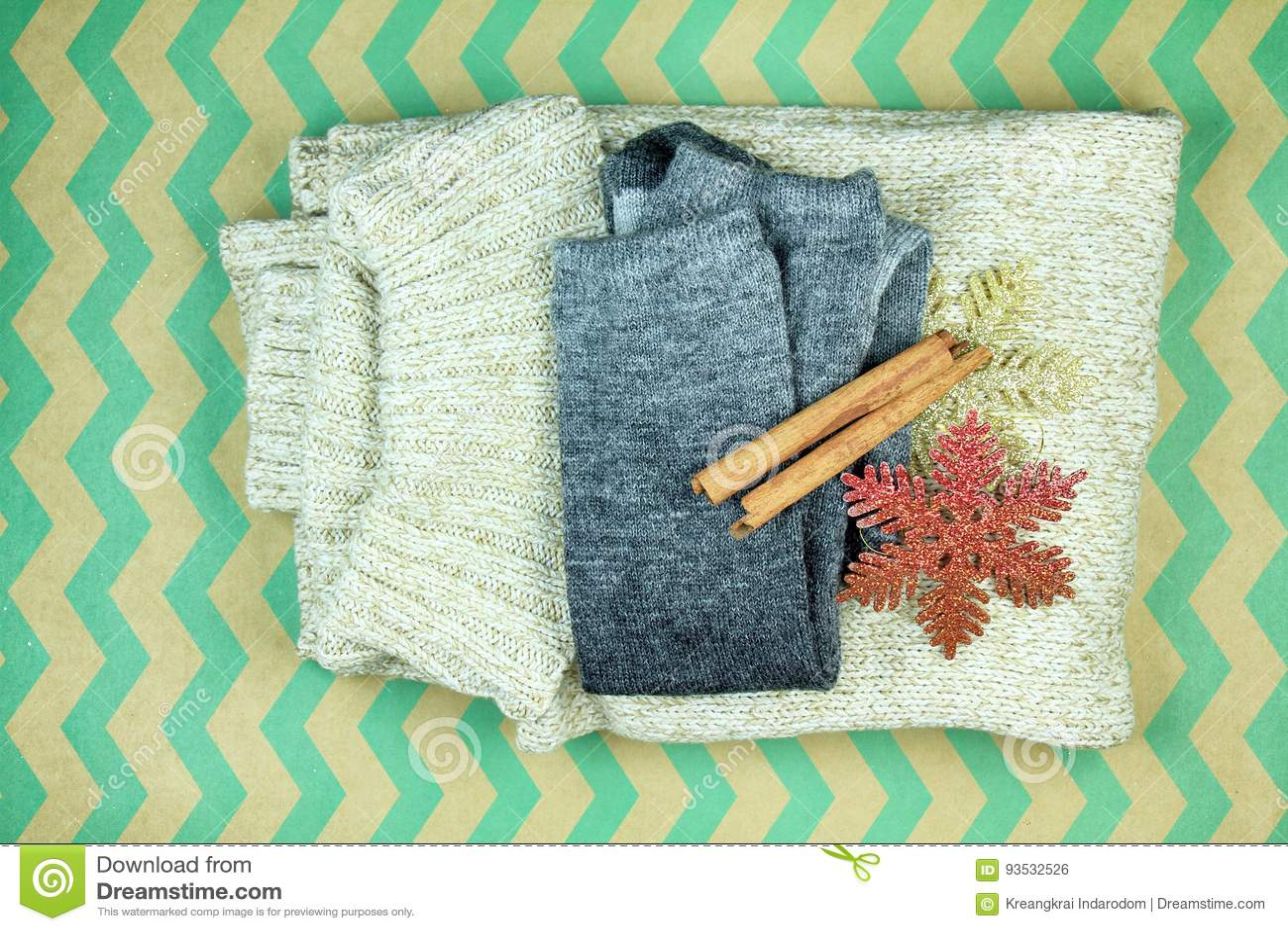 Warm winter closet.