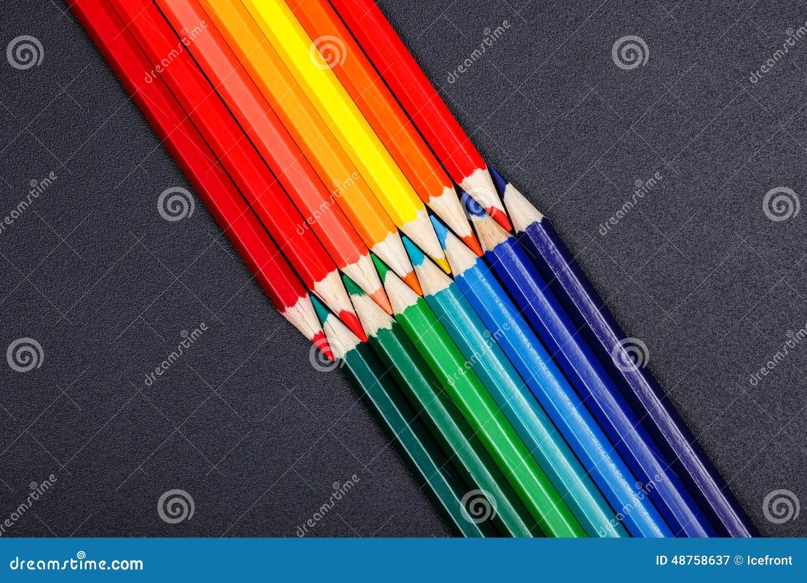 Warme en koude kleuren stock afbeelding afbeelding bestaande uit zwart 48758637 - Warme en koude kleuren in verf ...