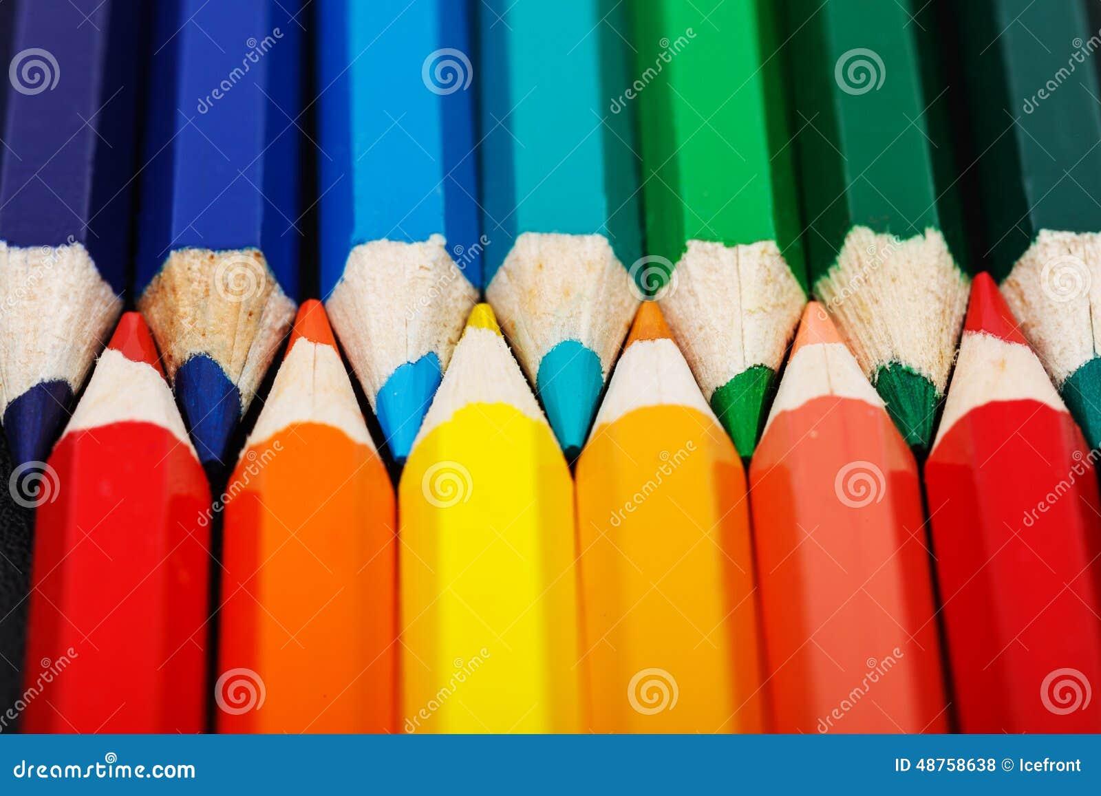 Warme en koude kleuren stock foto afbeelding bestaande uit tekening 48758638 - Warme en koude kleuren in verf ...