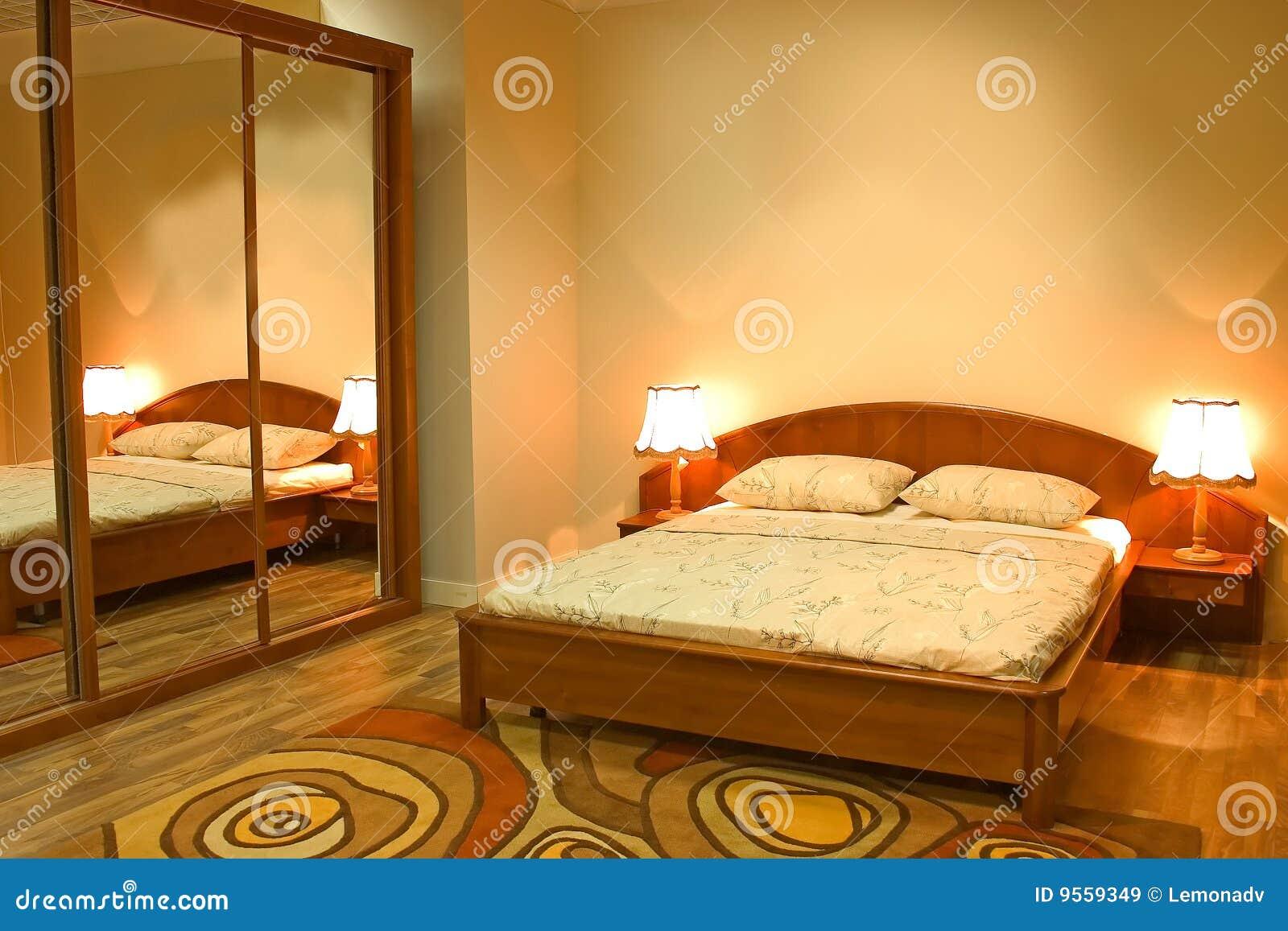Warme slaapkamer royalty vrije stock afbeeldingen   afbeelding ...