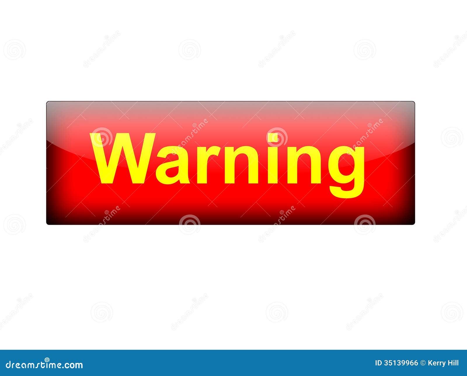 text warning black background - photo #41