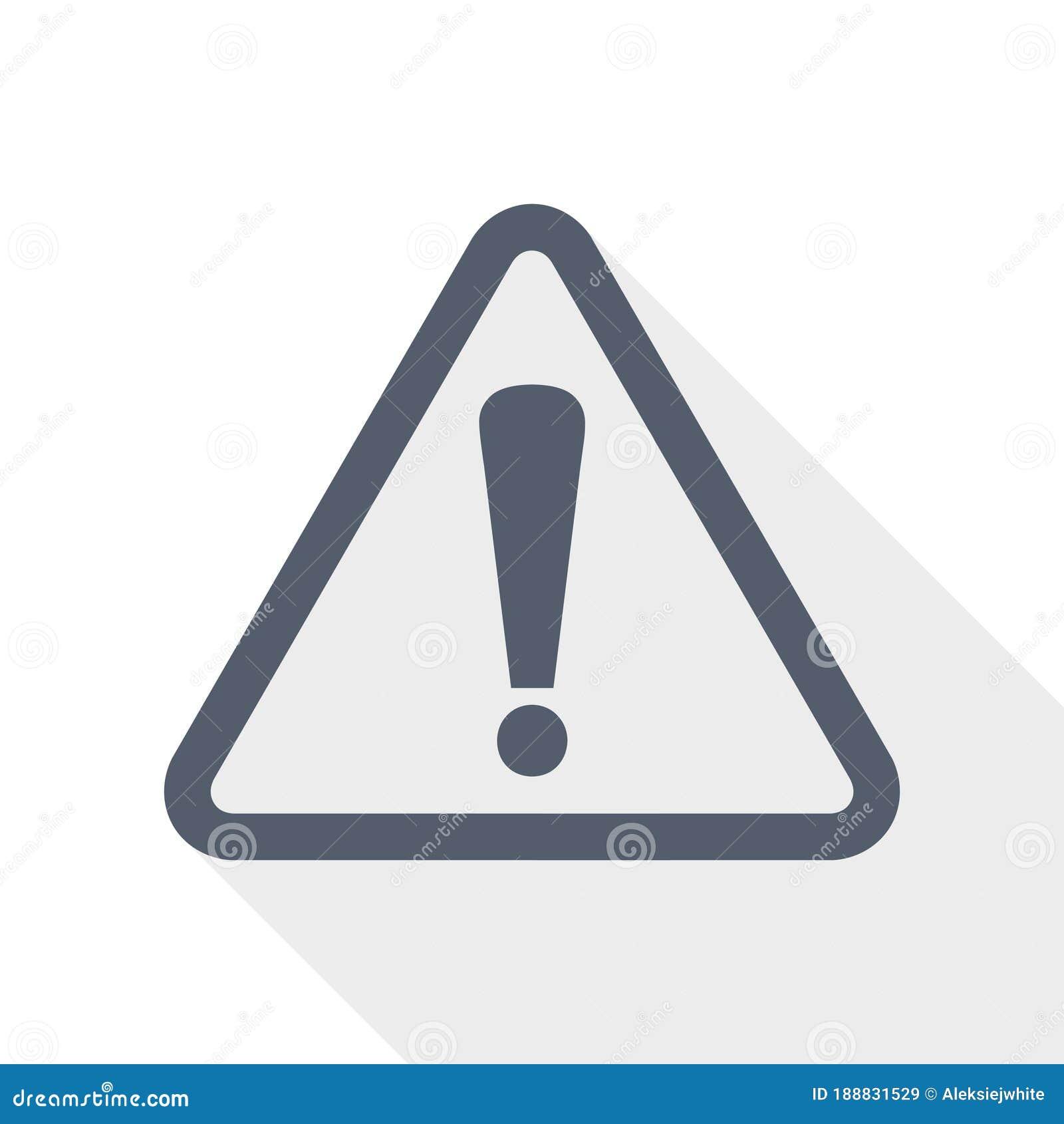 Warning Danger Icon Stock Illustrations – 10,10 Warning Danger ...