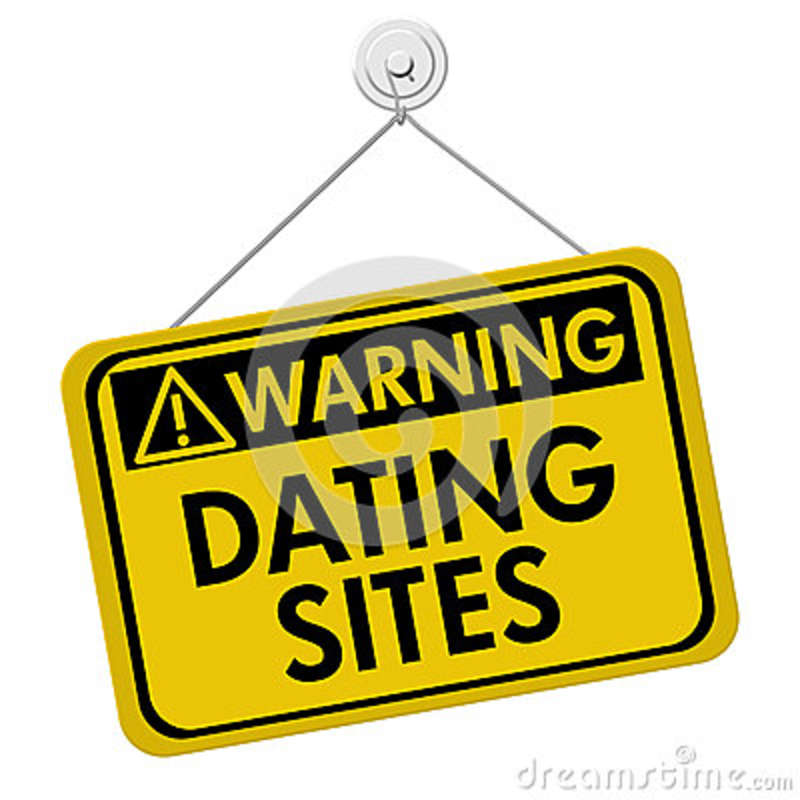 Dating site warnings