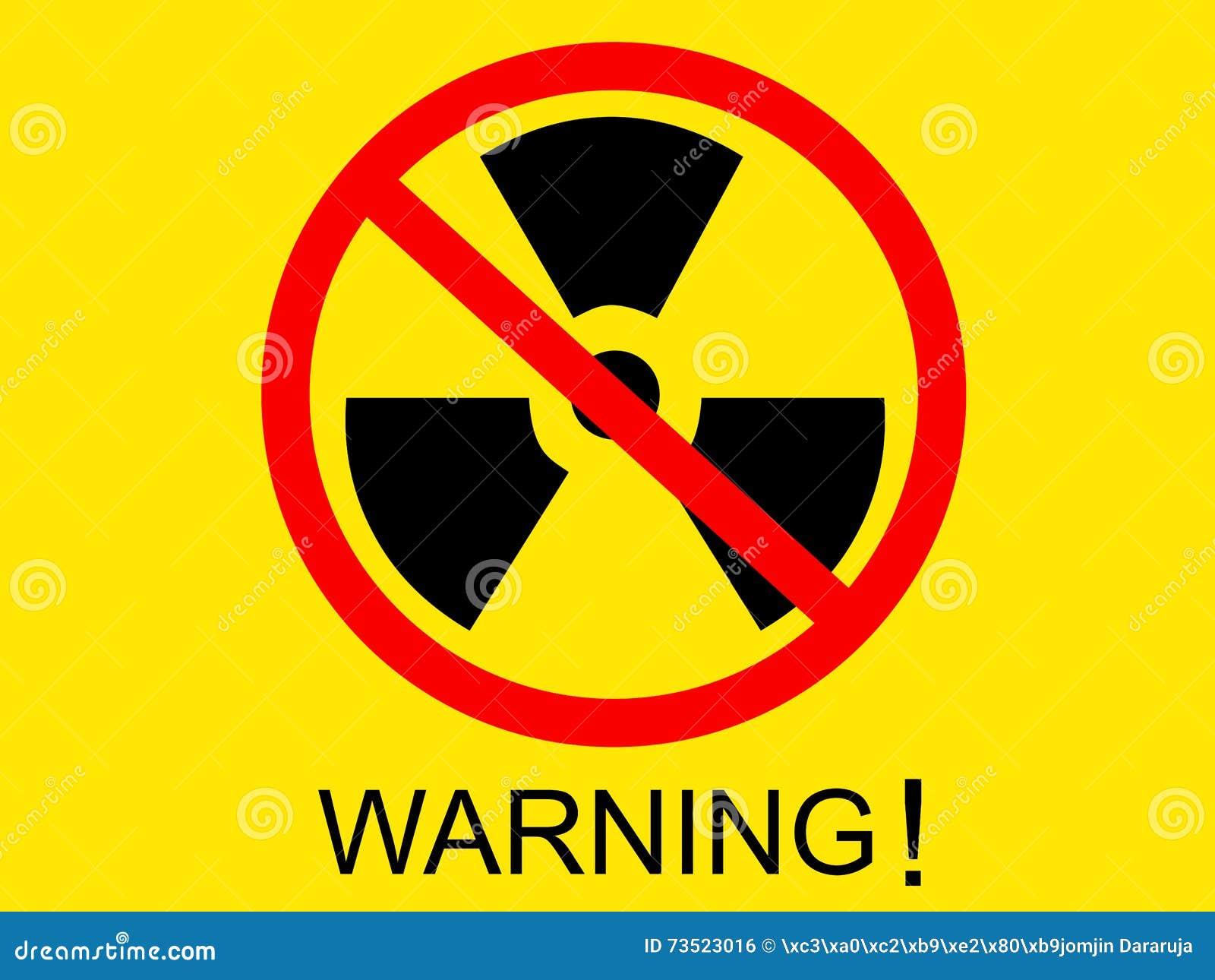 Warning radiation icon symbol black on yellow screen with warning warning radiation icon symbol black on yellow screen with warning word buycottarizona Choice Image