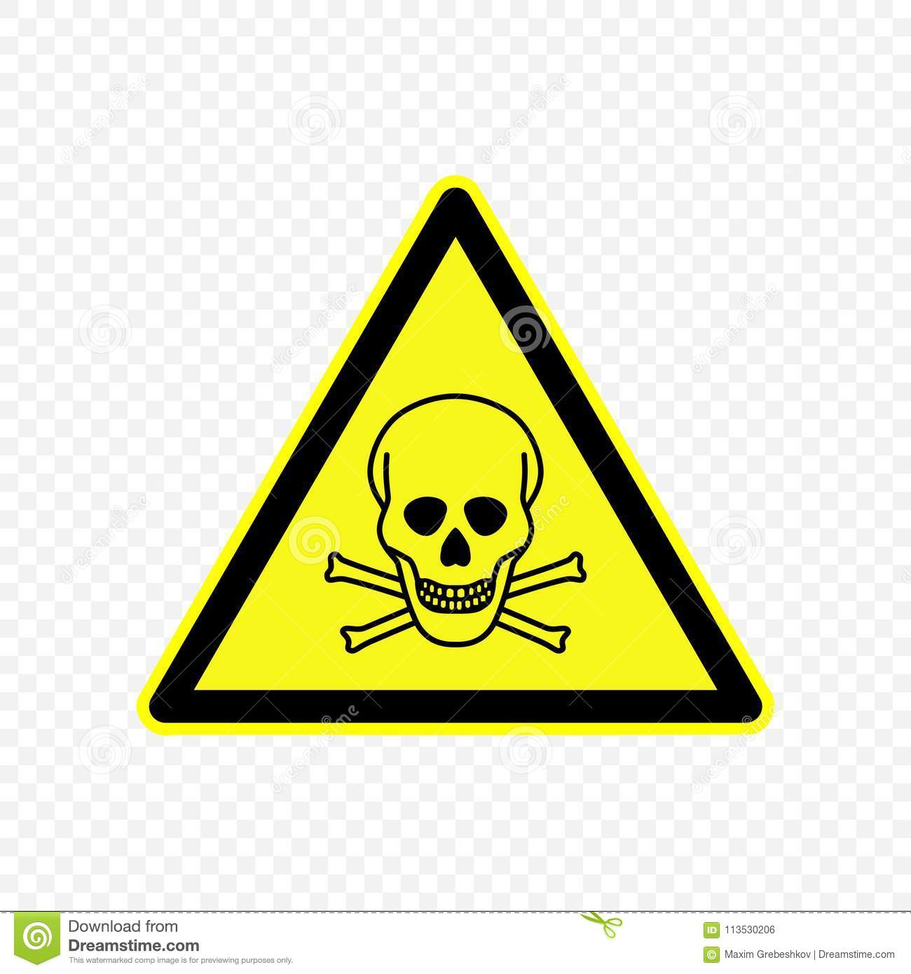 Warning Sign Vector Illustration Stock Vector Illustration Of