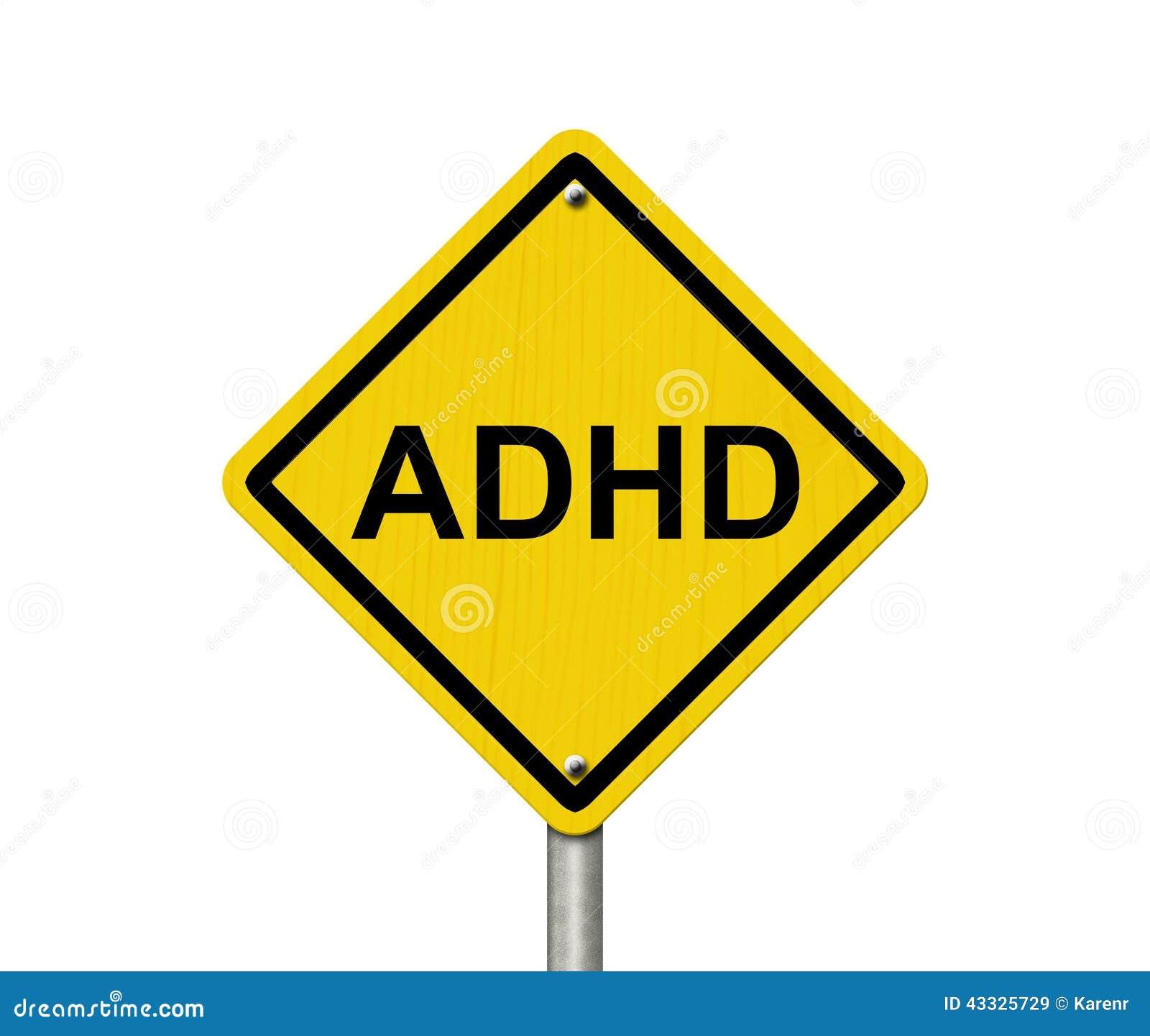 Warning Signs Of ADHD Stock Photo - Image: 43325729