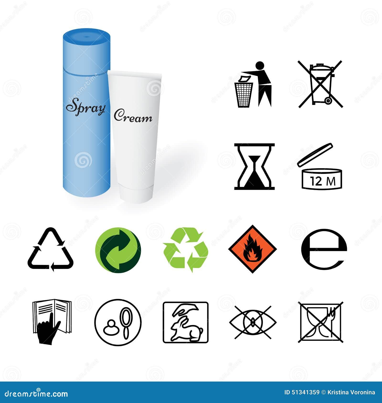 Warning signs, environmental signs, product