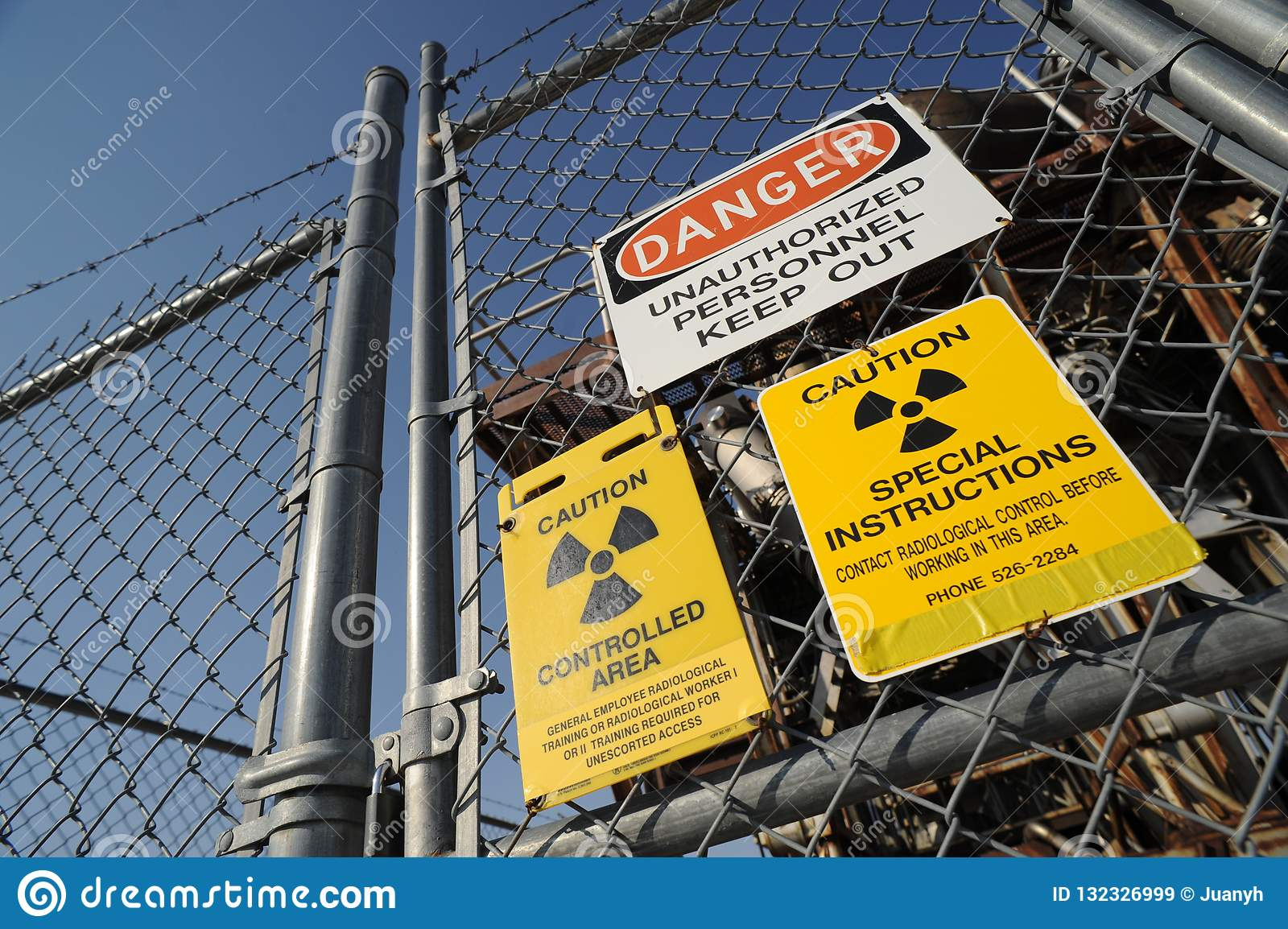 Warning Signs of a Nuclear Facility