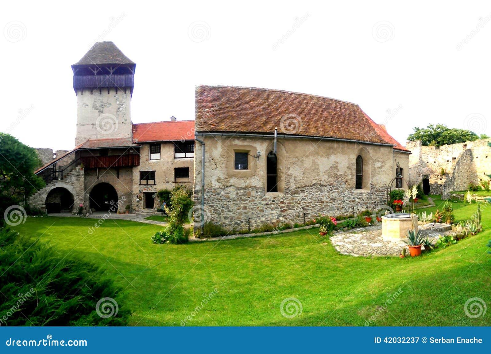 Warowny kościół Calnic