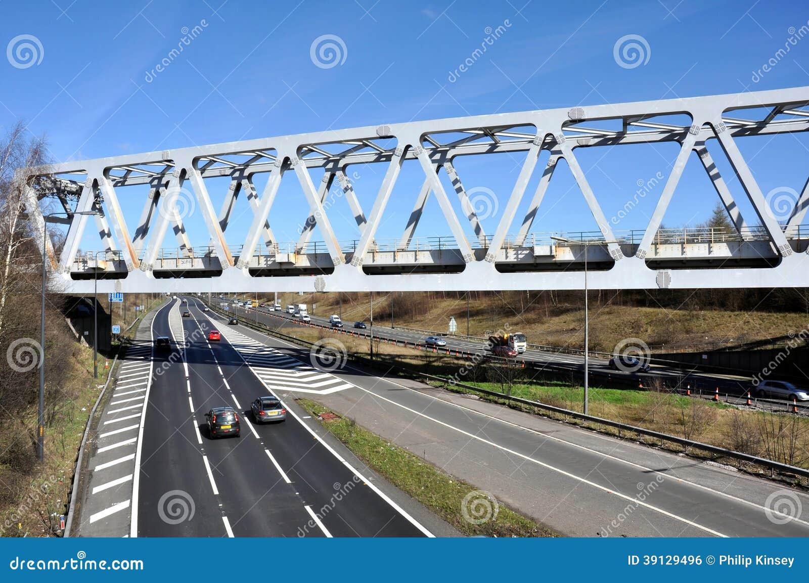 Warren Truss Type Railway Bridge Stock Photo Image 39129496