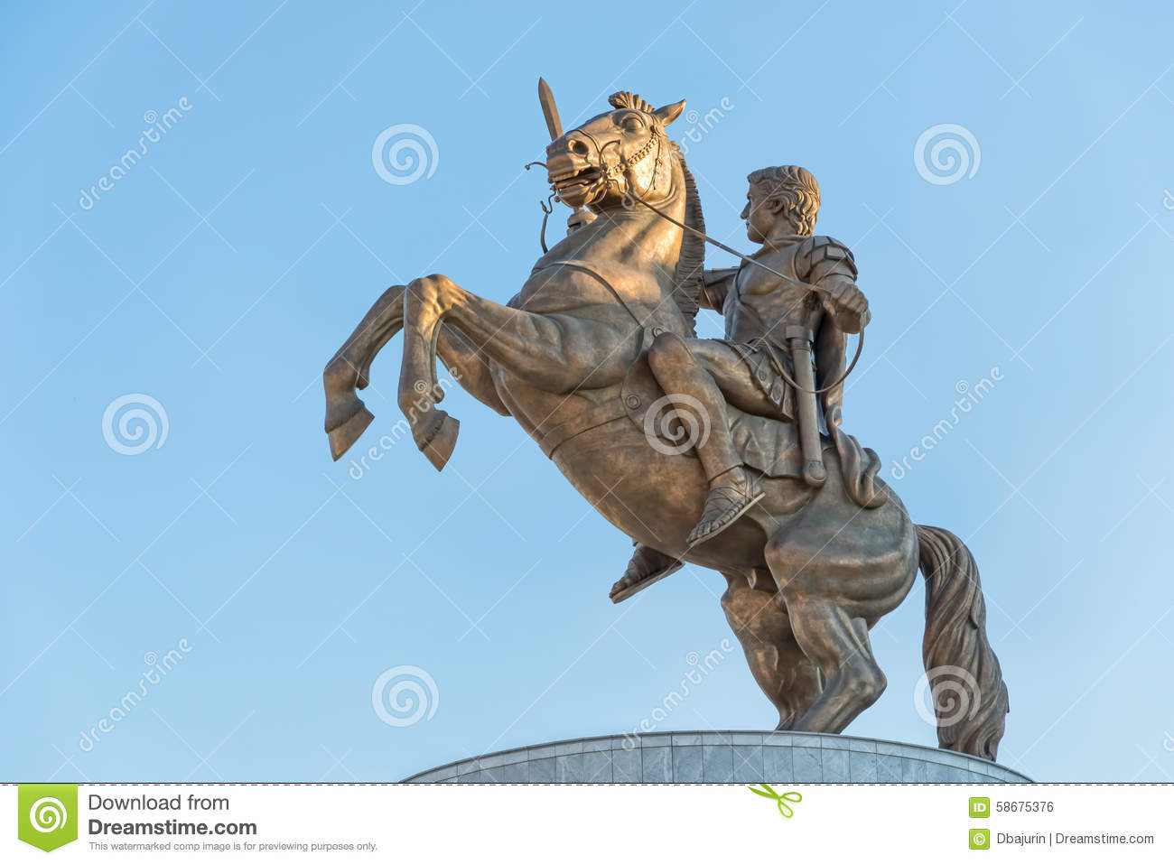 Alexander City (AL) United States  city photos gallery : Warrior On Horse Alexander The Great In Skopje Stock Photo Image ...