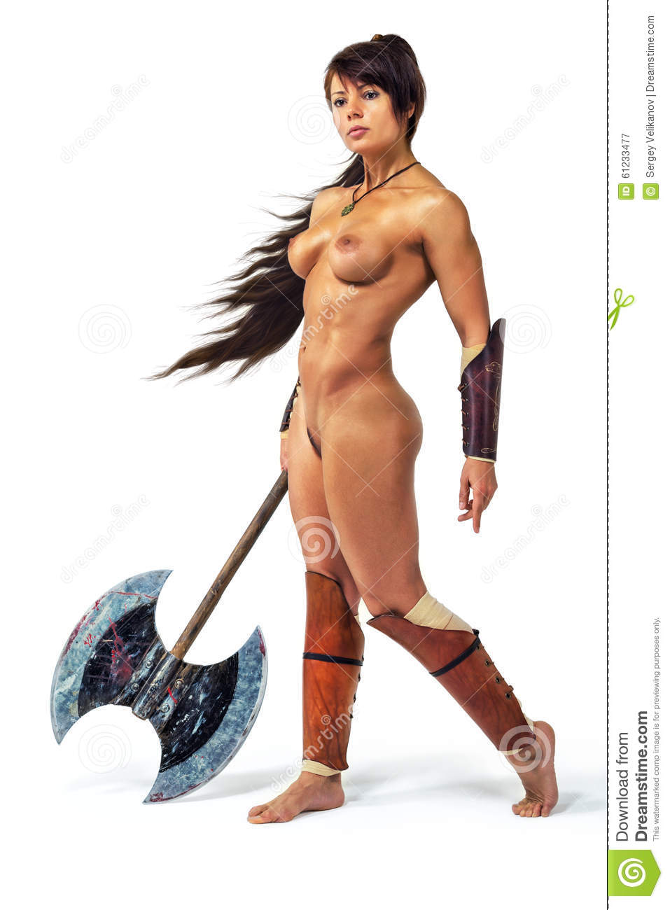 Naked women warriors erotic image