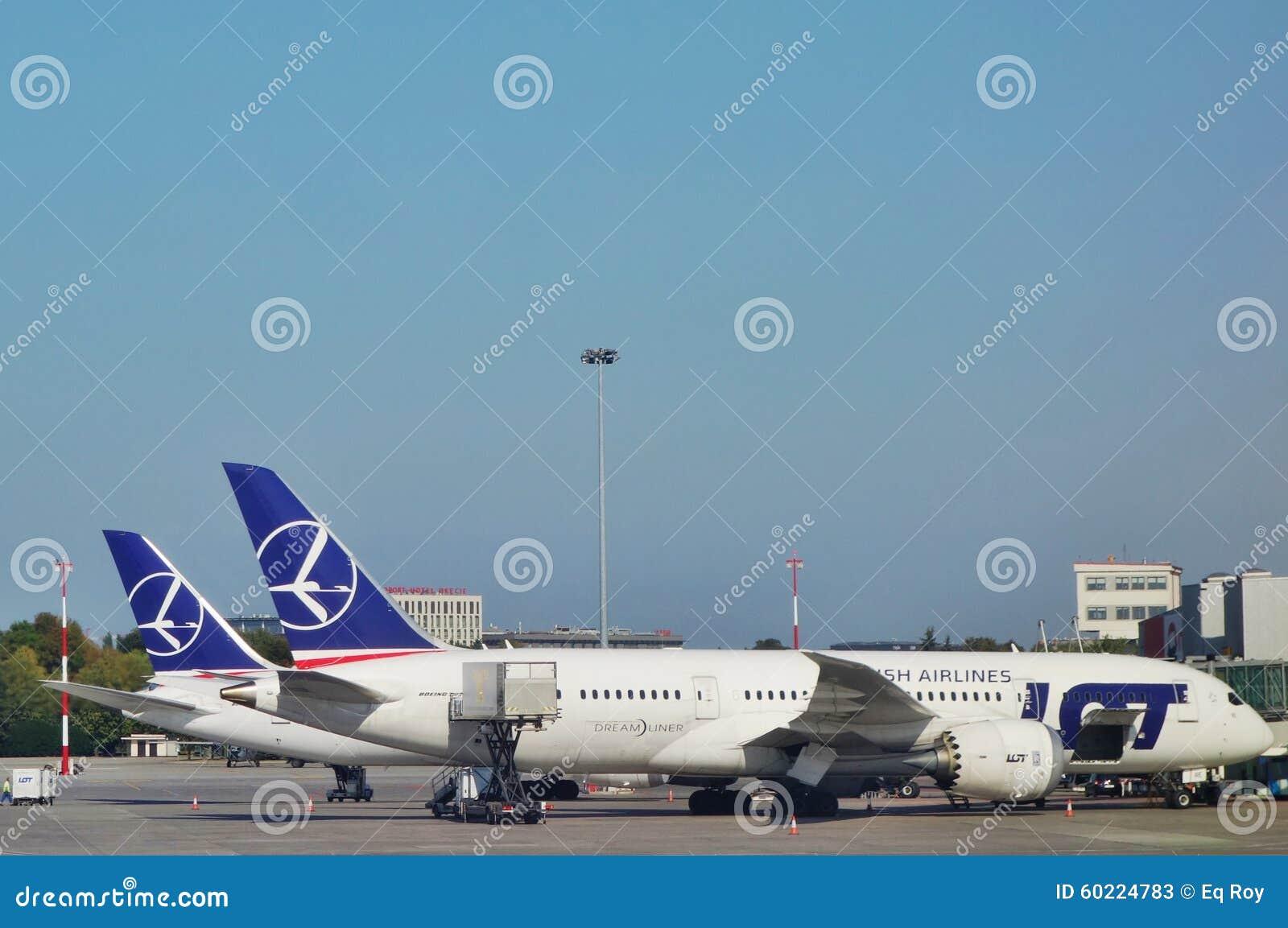 Aeroporto Waw : The warsaw chopin airport waw editorial stock photo image of