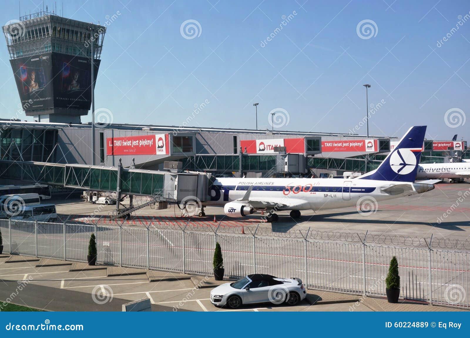 Aeroporto Waw : The warsaw chopin airport waw editorial stock image image of