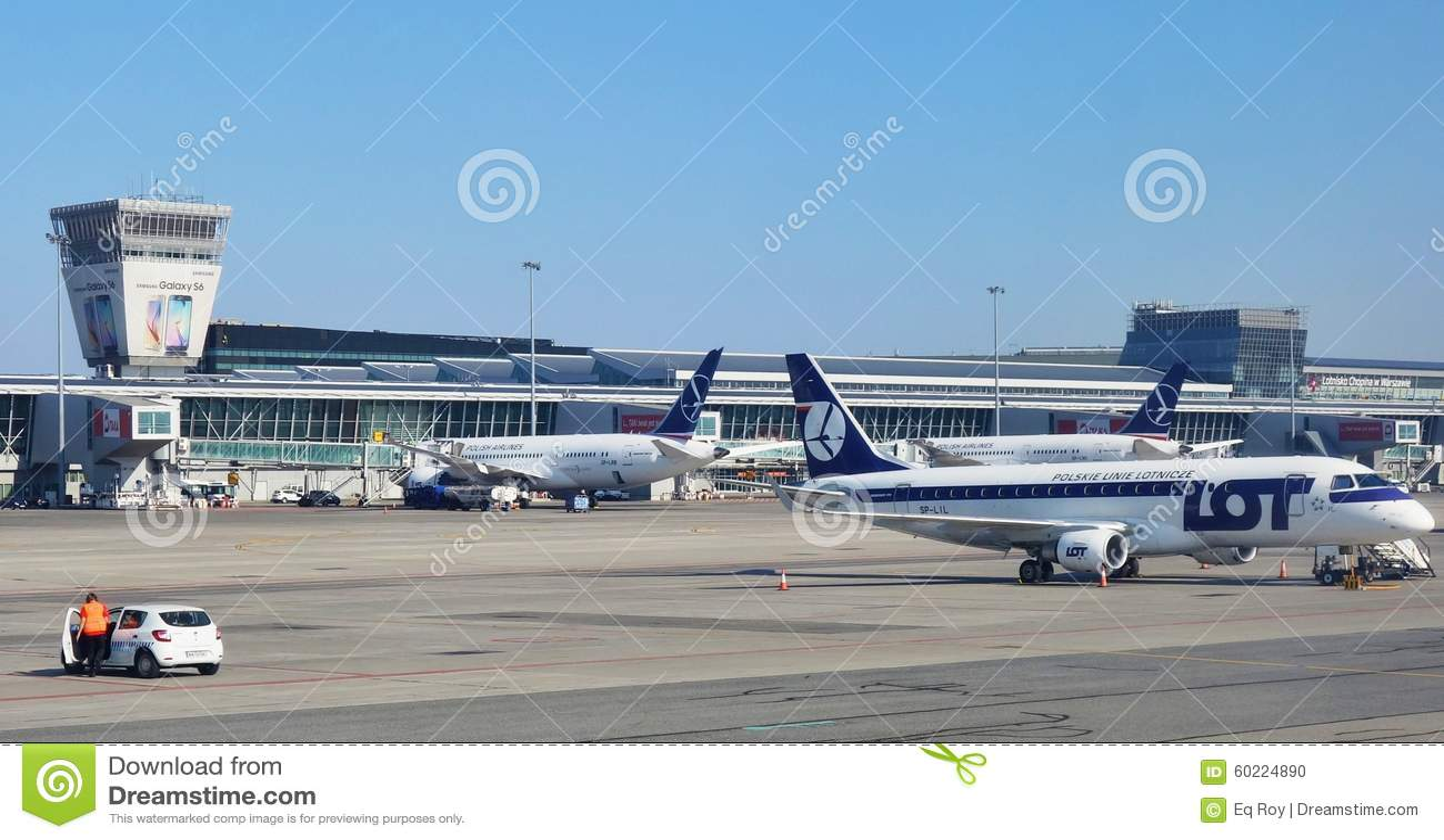 Aeroporto Waw : The warsaw chopin airport waw editorial image image of