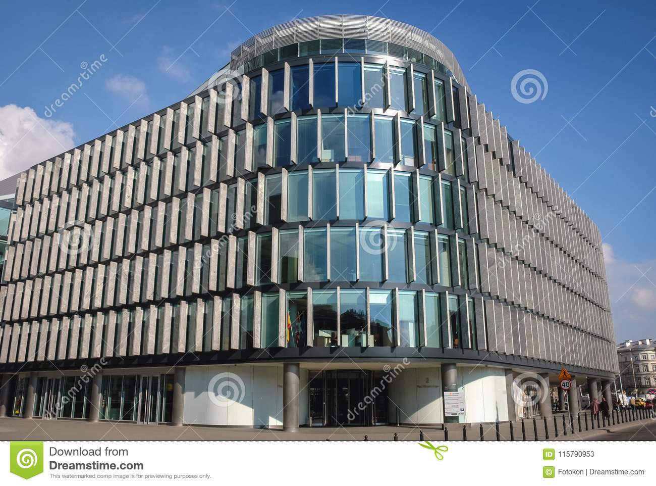 Norman foster office Daughter Warsaw Poland April 2 2006 Metropolitan Office Building Designed By Sir Norman Foster Located On The Pilsudski Square In Warsaw City Fronterainformativaco Metropolitan Building In Warsaw Editorial Stock Photo Image Of