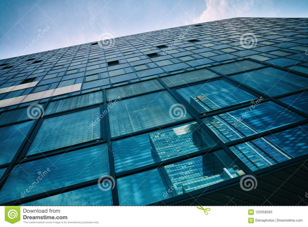 Building Architecture Close Up In Warsaw Stock Image ...