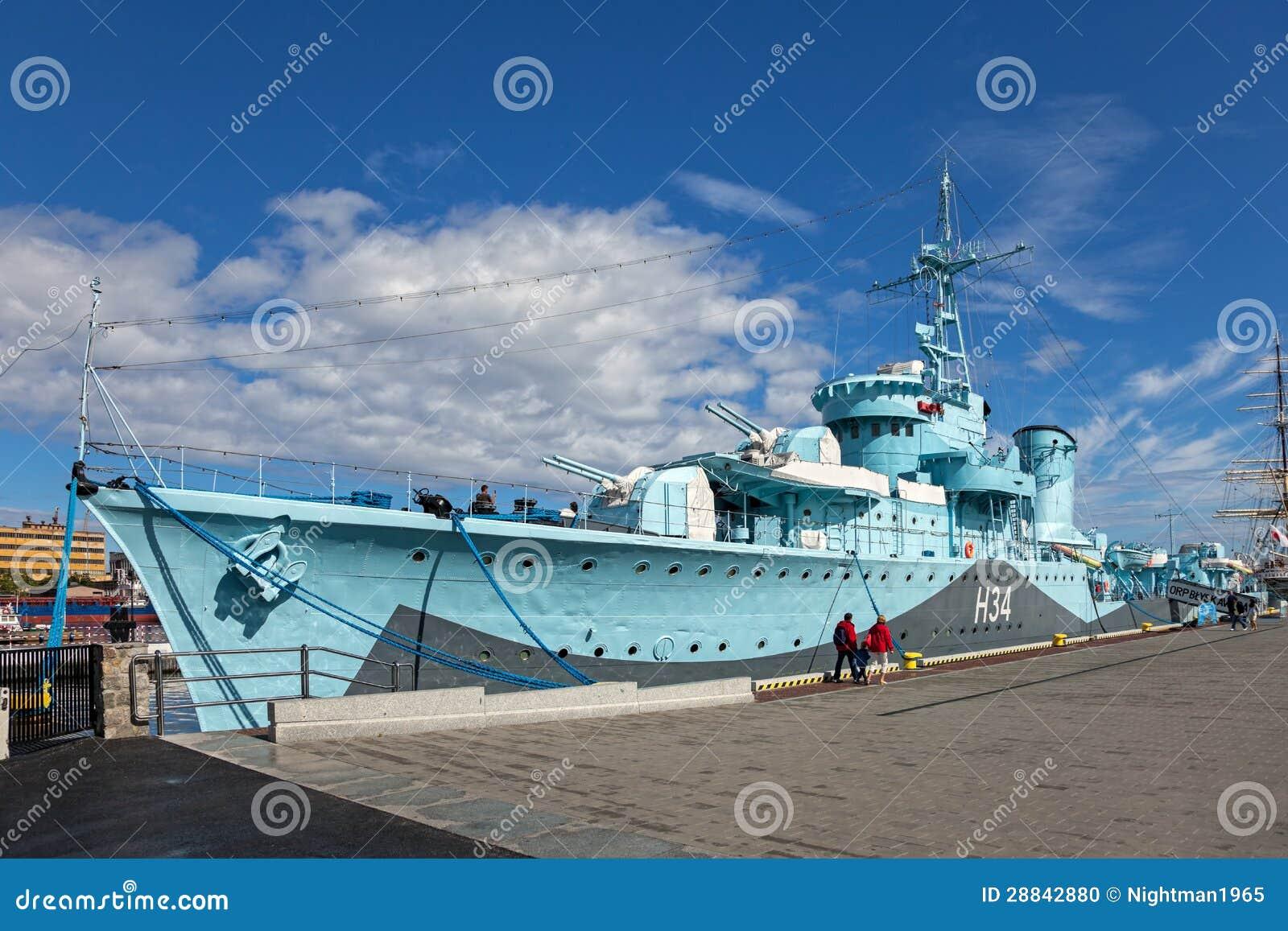 Warship Blyskawica
