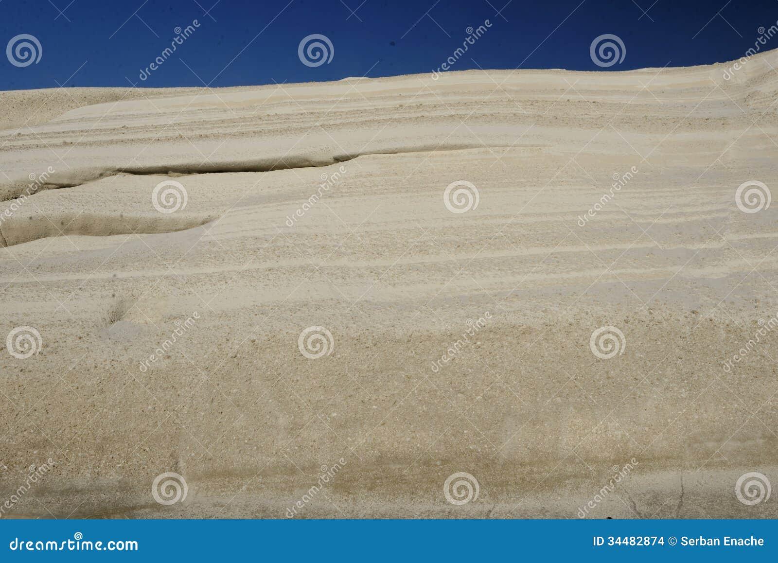Warstwy powulkaniczny popiół
