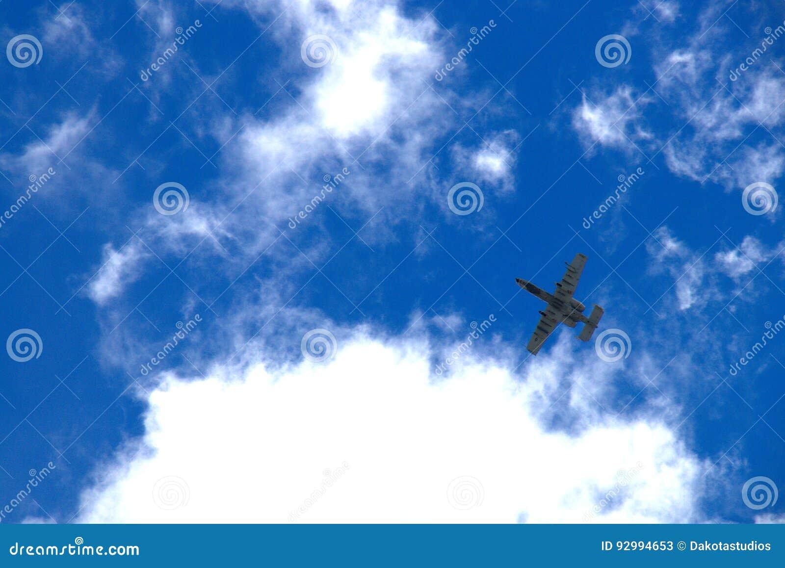 A-10 Warthog Flyover