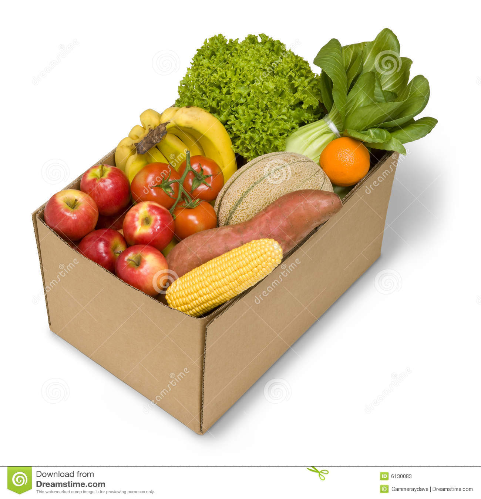 Warzywa owocowe boksujący