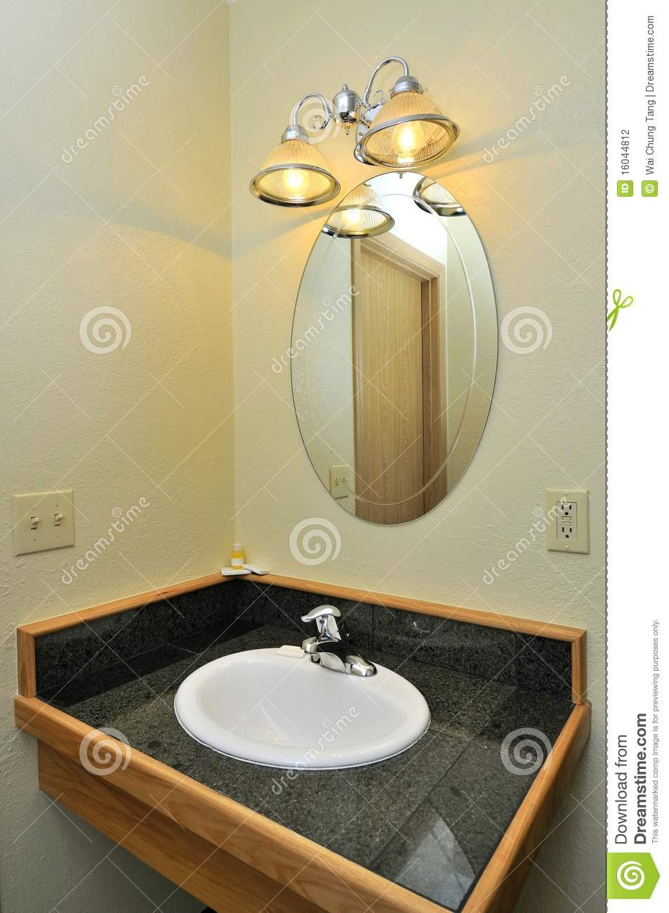 Wash basin and mirror stock photography image 16044812 for Wash basin mirror price