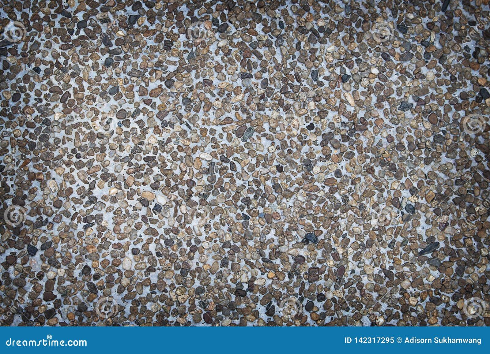 Wash gravel, wash stone