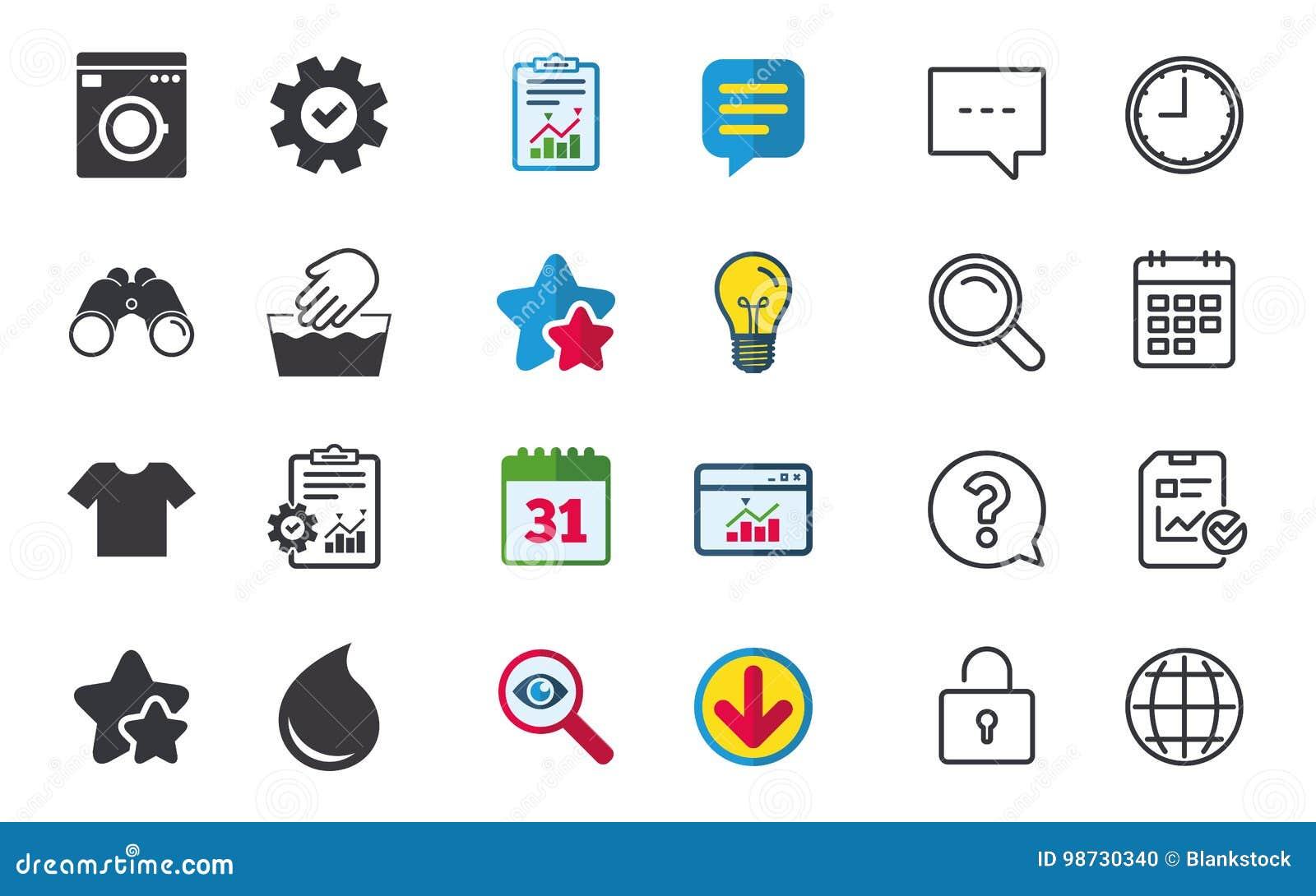 Wash Icon Not Machine Washable Symbol Stock Vector Illustration